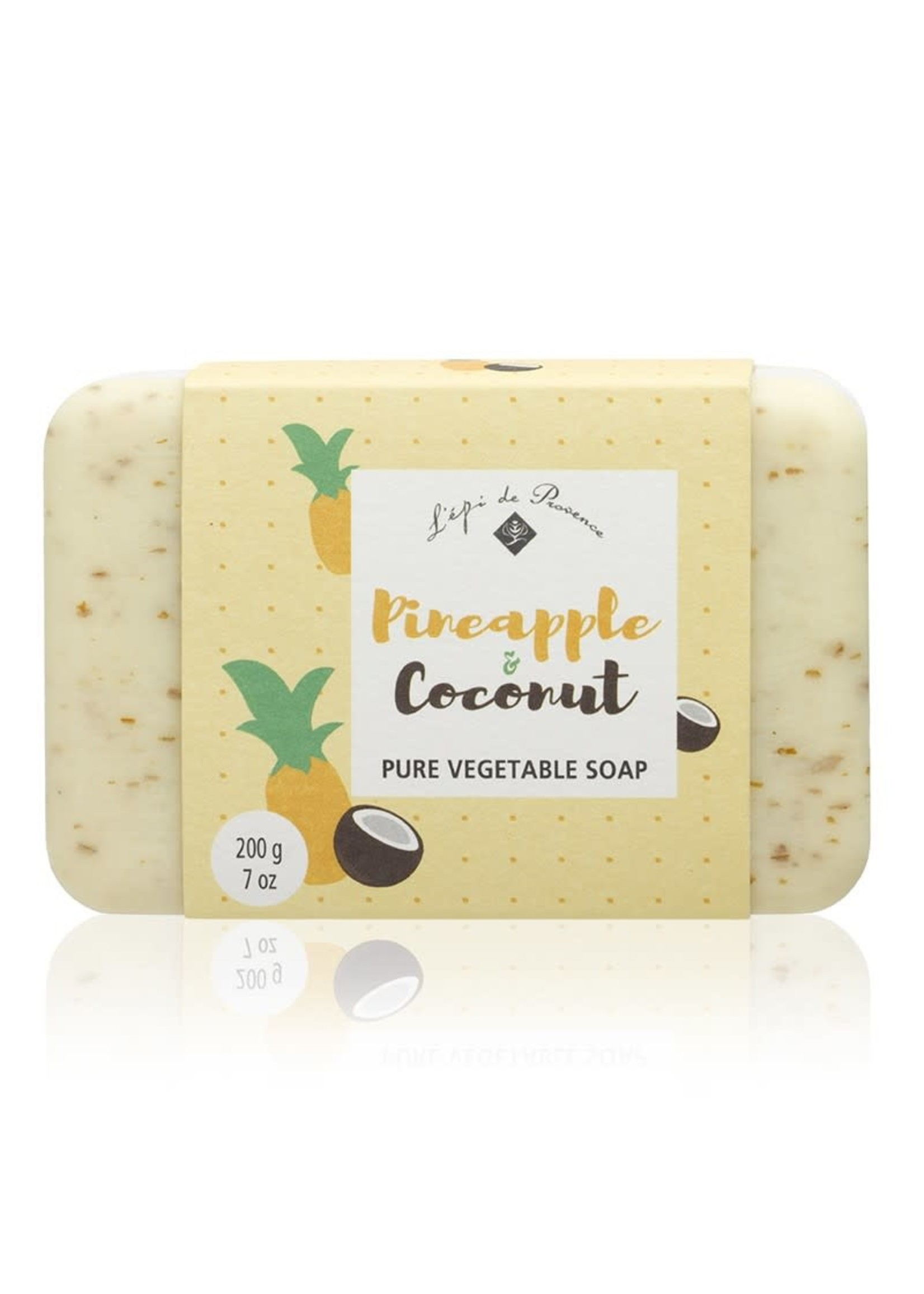 Echo France Soap Pineapple & Coconut 200g Soap
