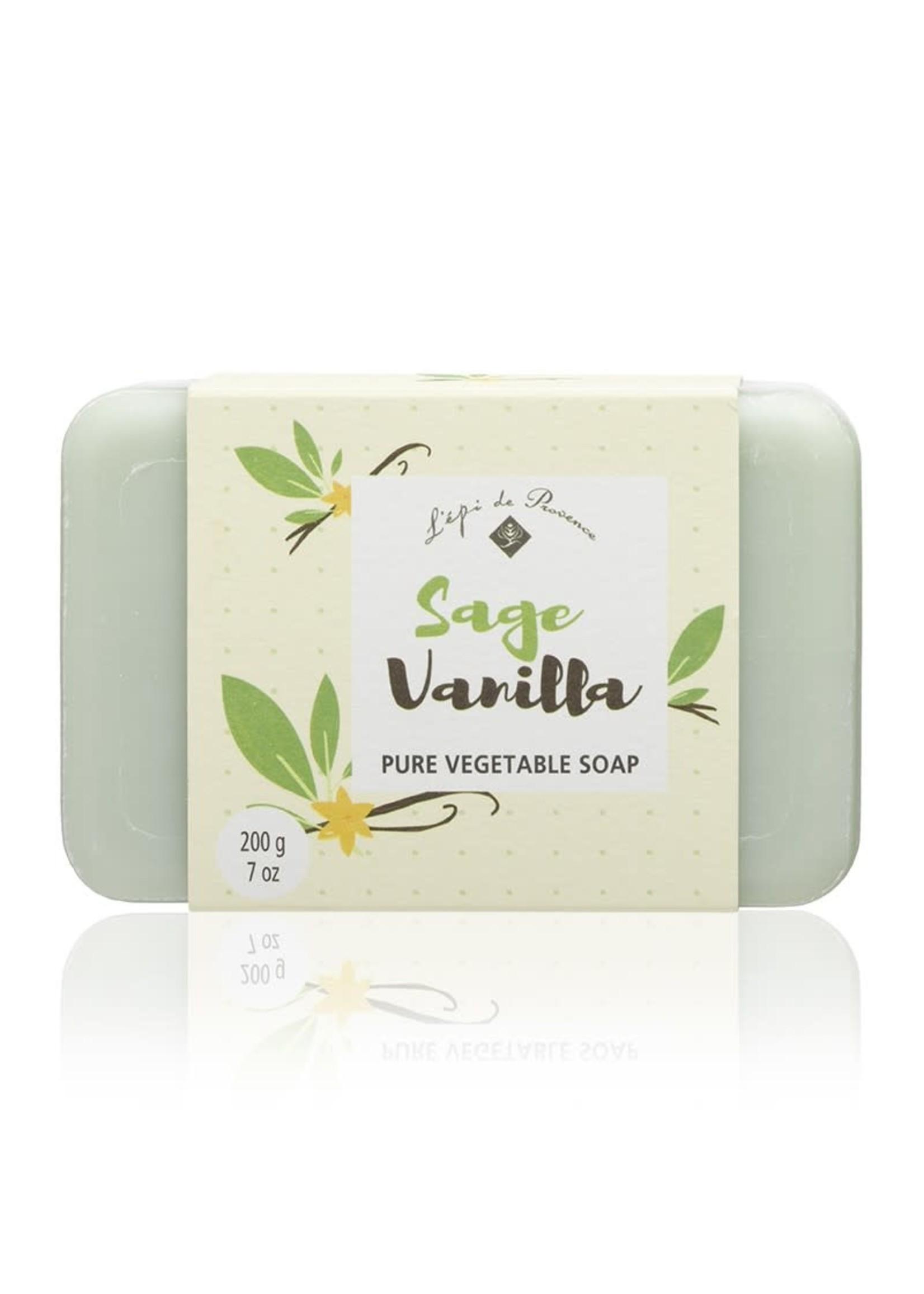 Echo France Soap Sage Vanilla 200g Soap