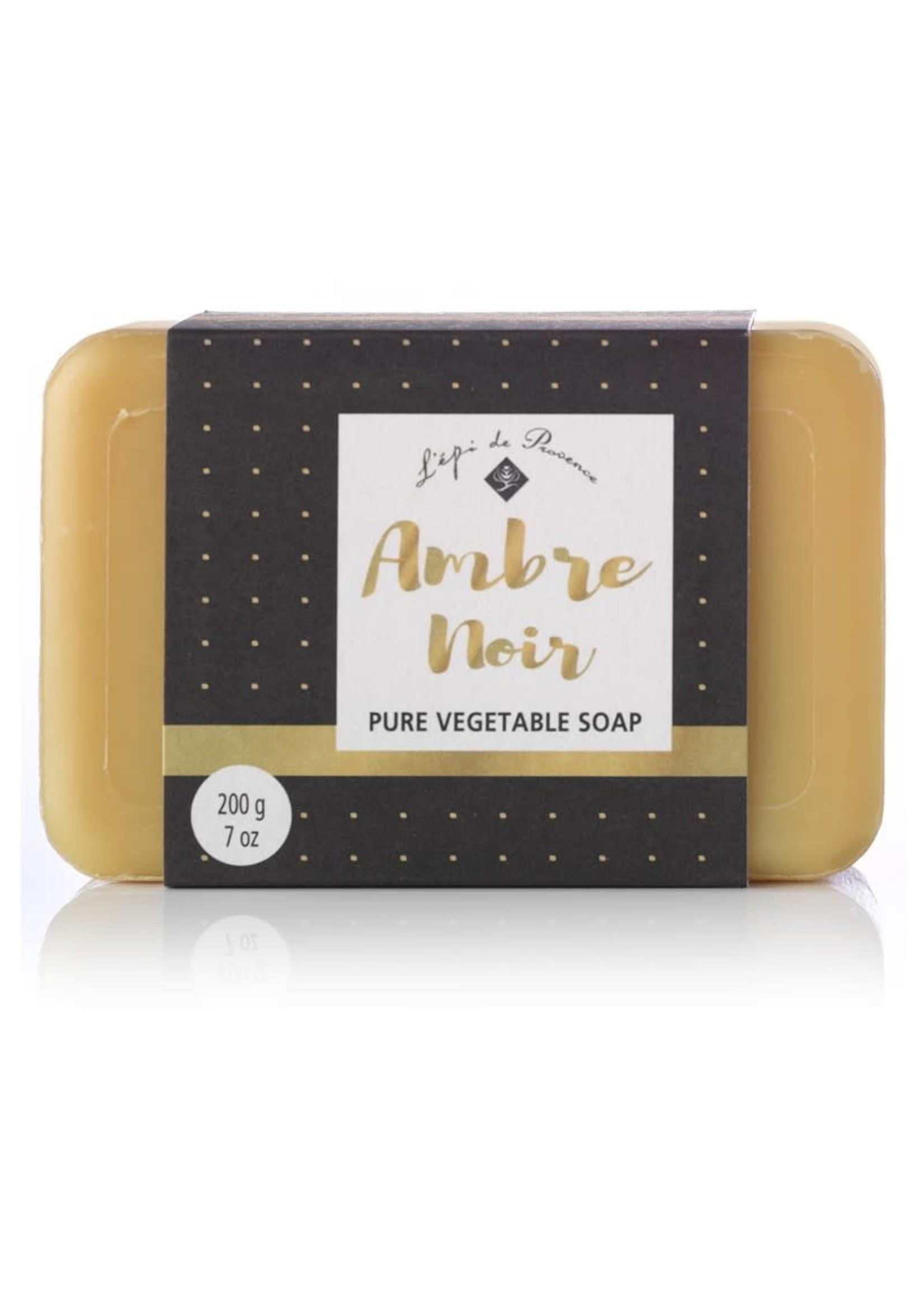 Echo France Soap Amber Noir 200g Soap