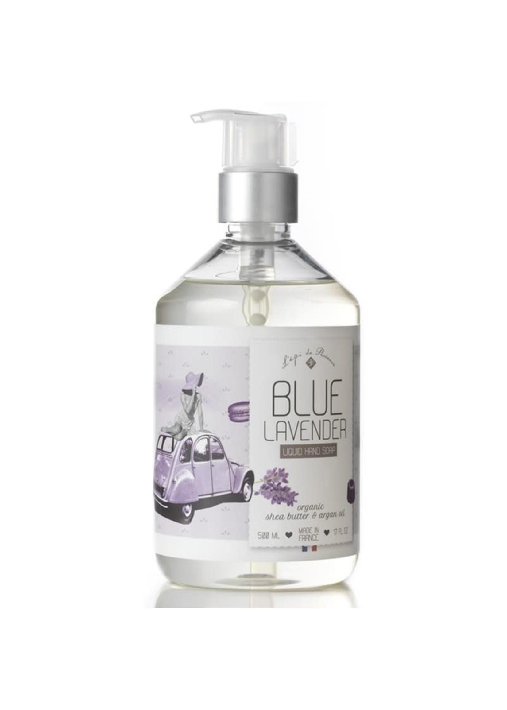 Echo France Soap Blue Lavender 500ml Liquid Hand Soap