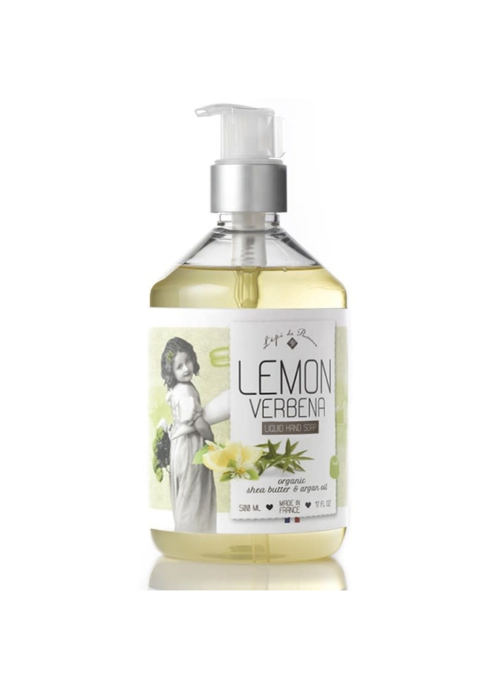 Echo France Soap Lemon Verbena 500ml Liquid Hand Soap