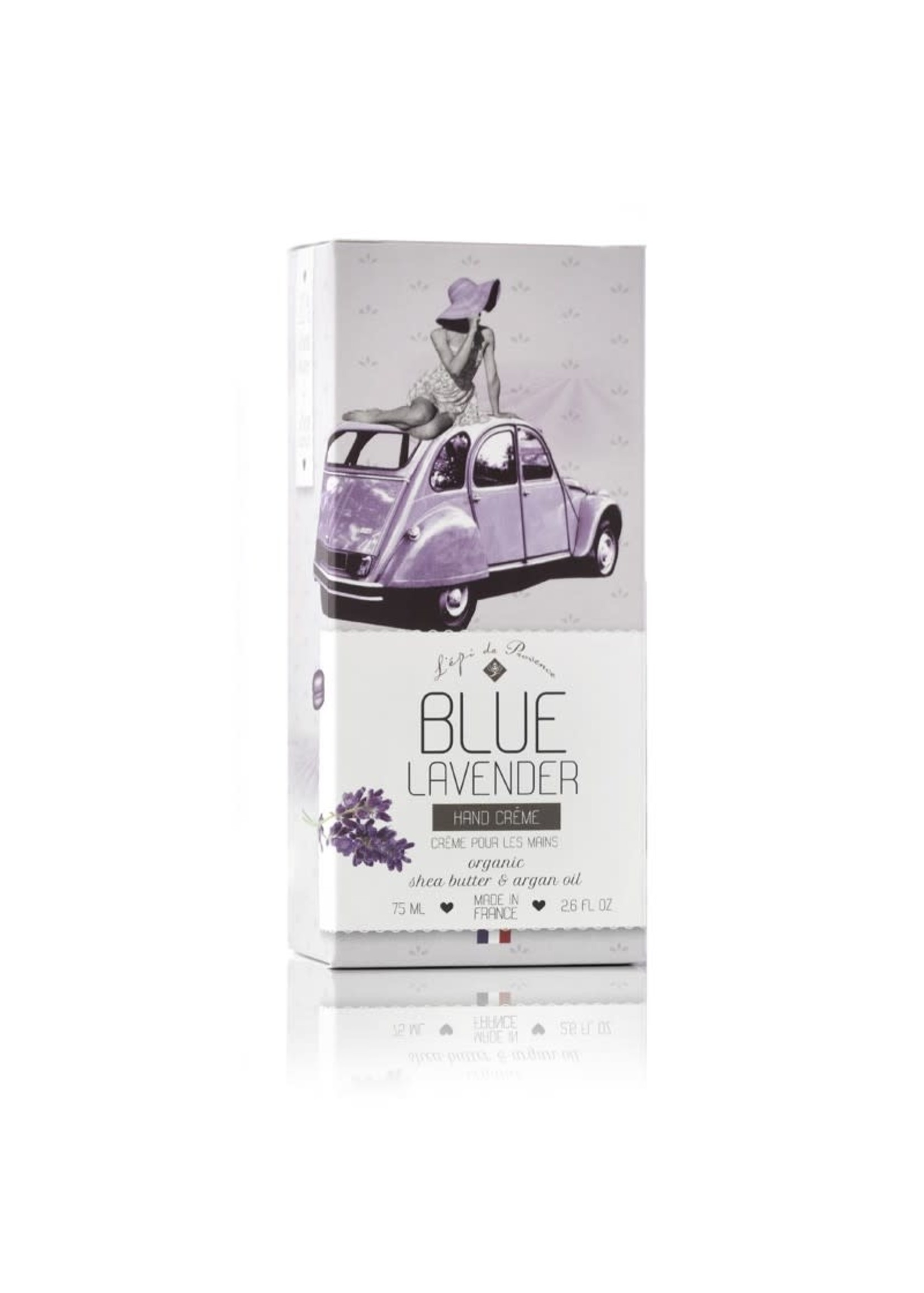 Echo France Soap Blue Lavender 75ml Hand Cream