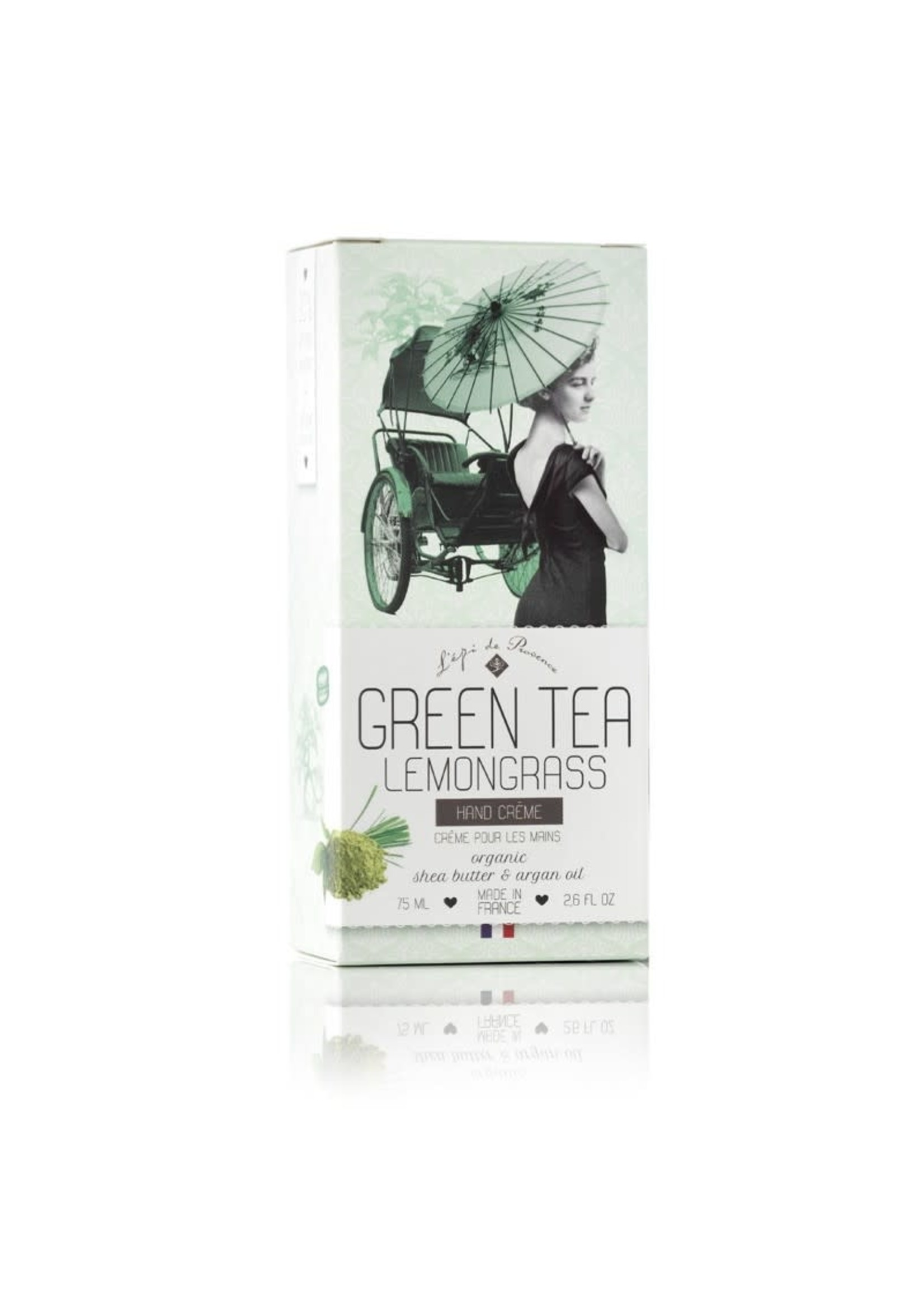 Echo France Soap Green Tea Lemongrass 75ml Hand Cream