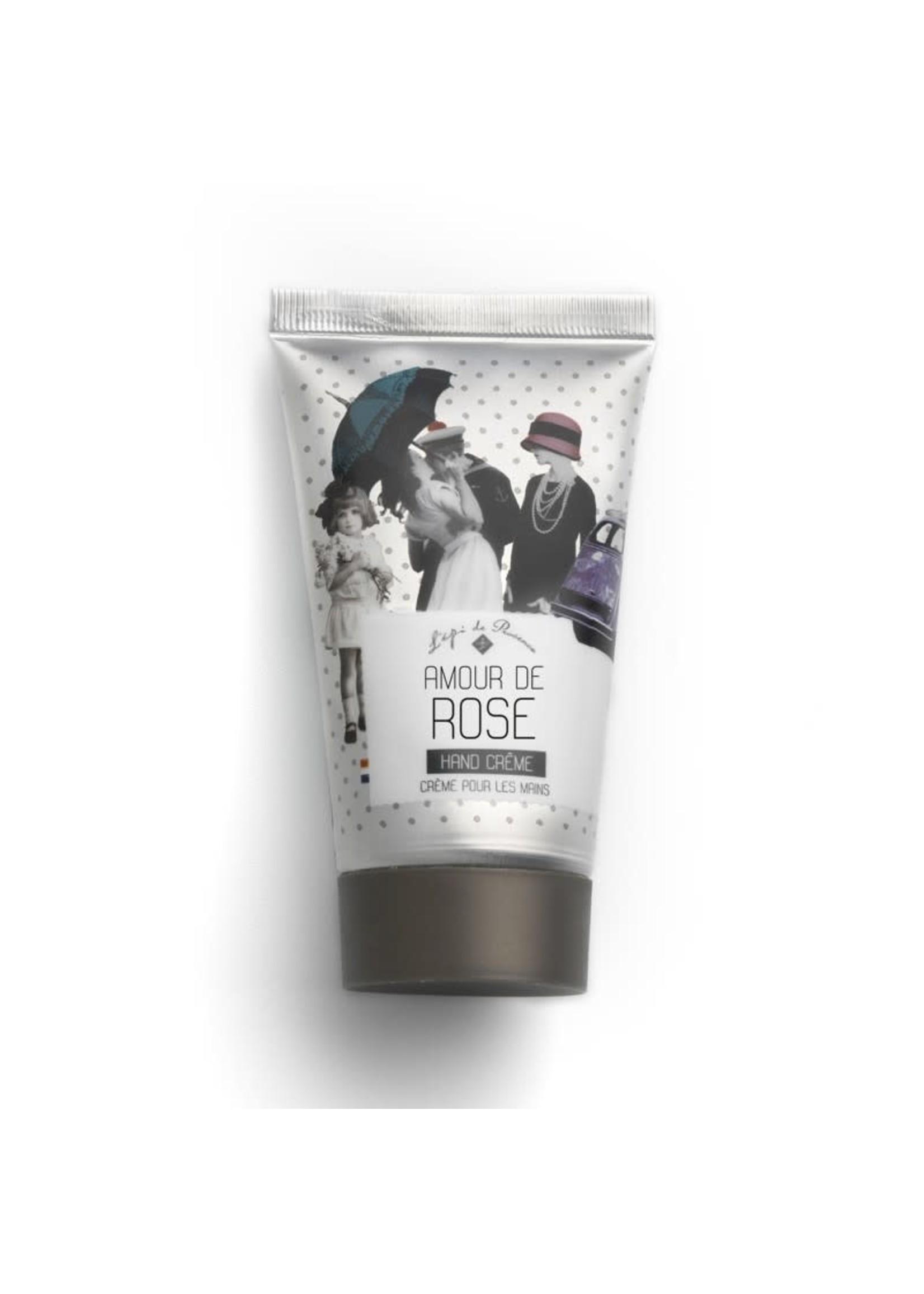 Echo France Soap Amour de Rose 75ml Hand Cream