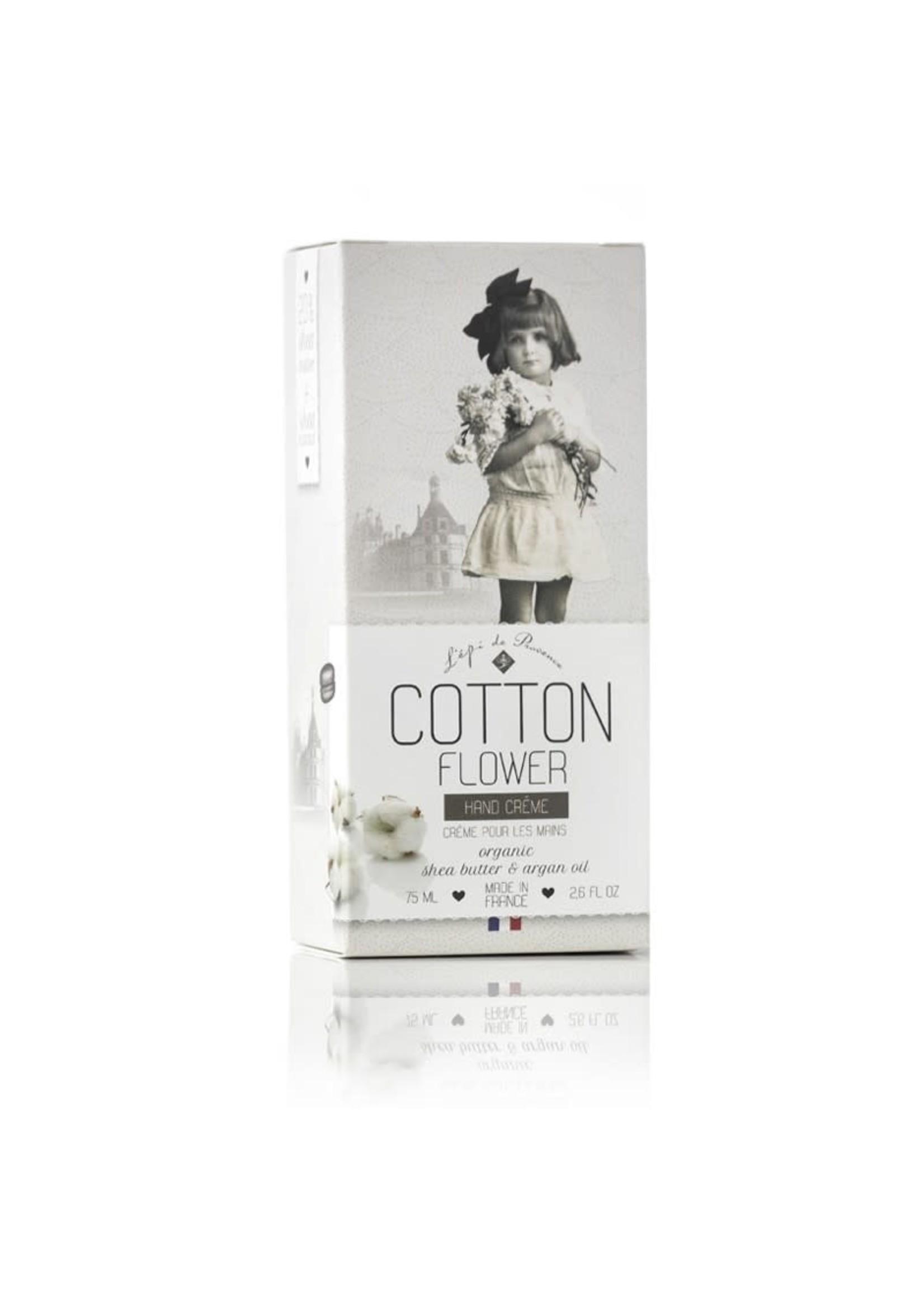 Echo France Soap Cotton Flower 75ml Hand Cream