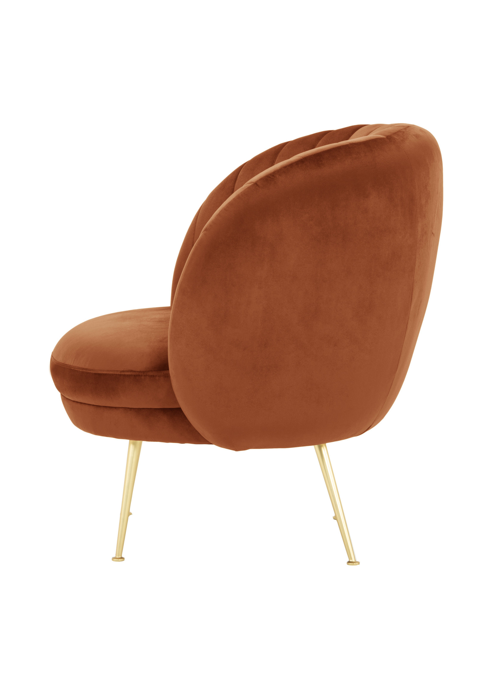 Moes Home Collection Armando Chair Rust by MOES