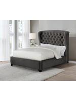 Coaster Furniture COASTER Queen Bed Warm Grey Black