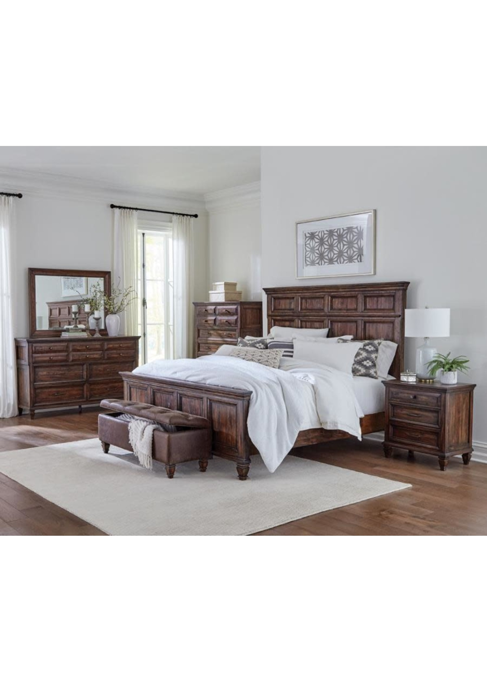 Coaster Furniture COASTER King 4pc Bedroom Set