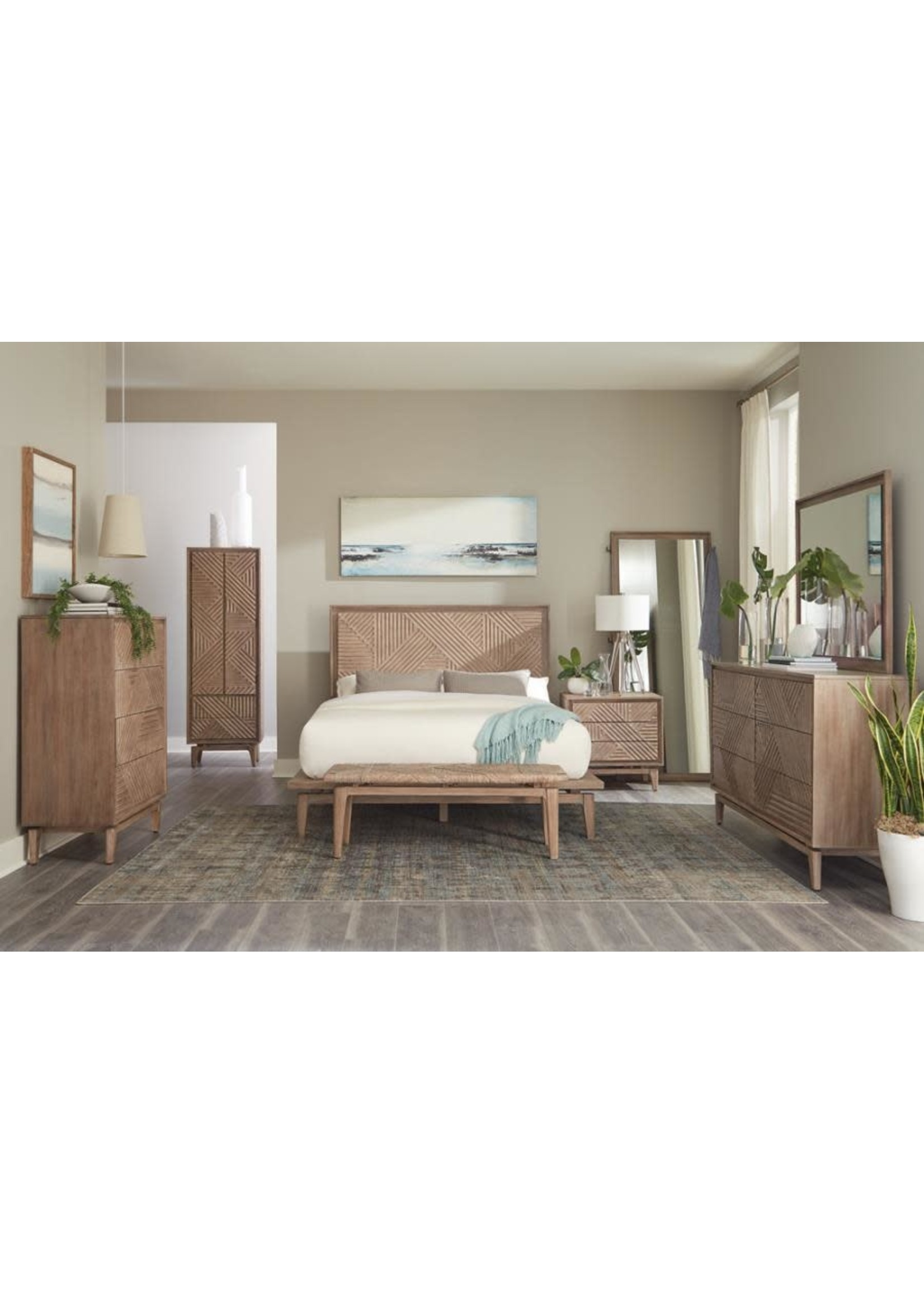 Coaster Furniture COASTER Queen Bed Sandstone