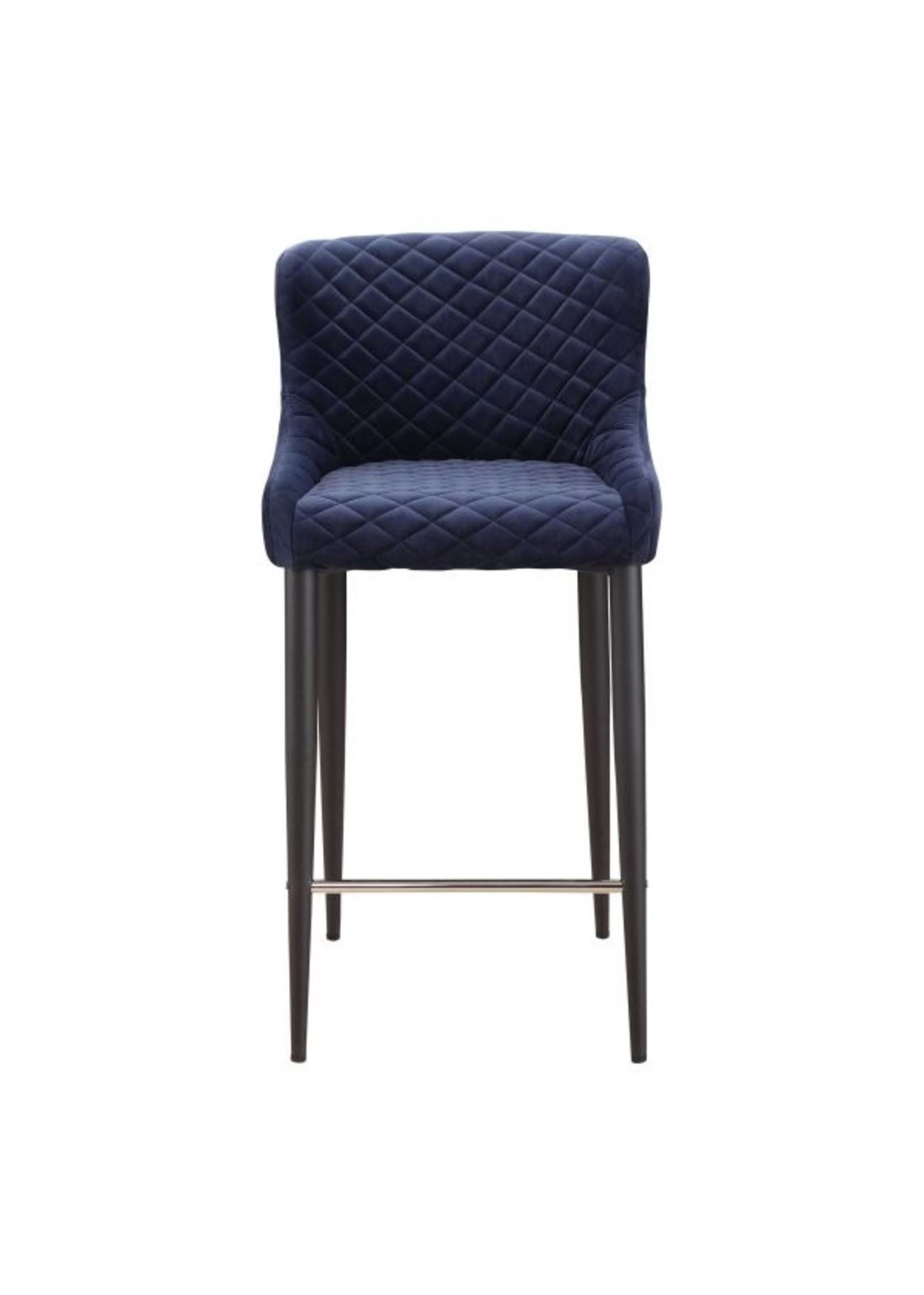 Moes Home Collection MOES Etta Barstool Dark Blue