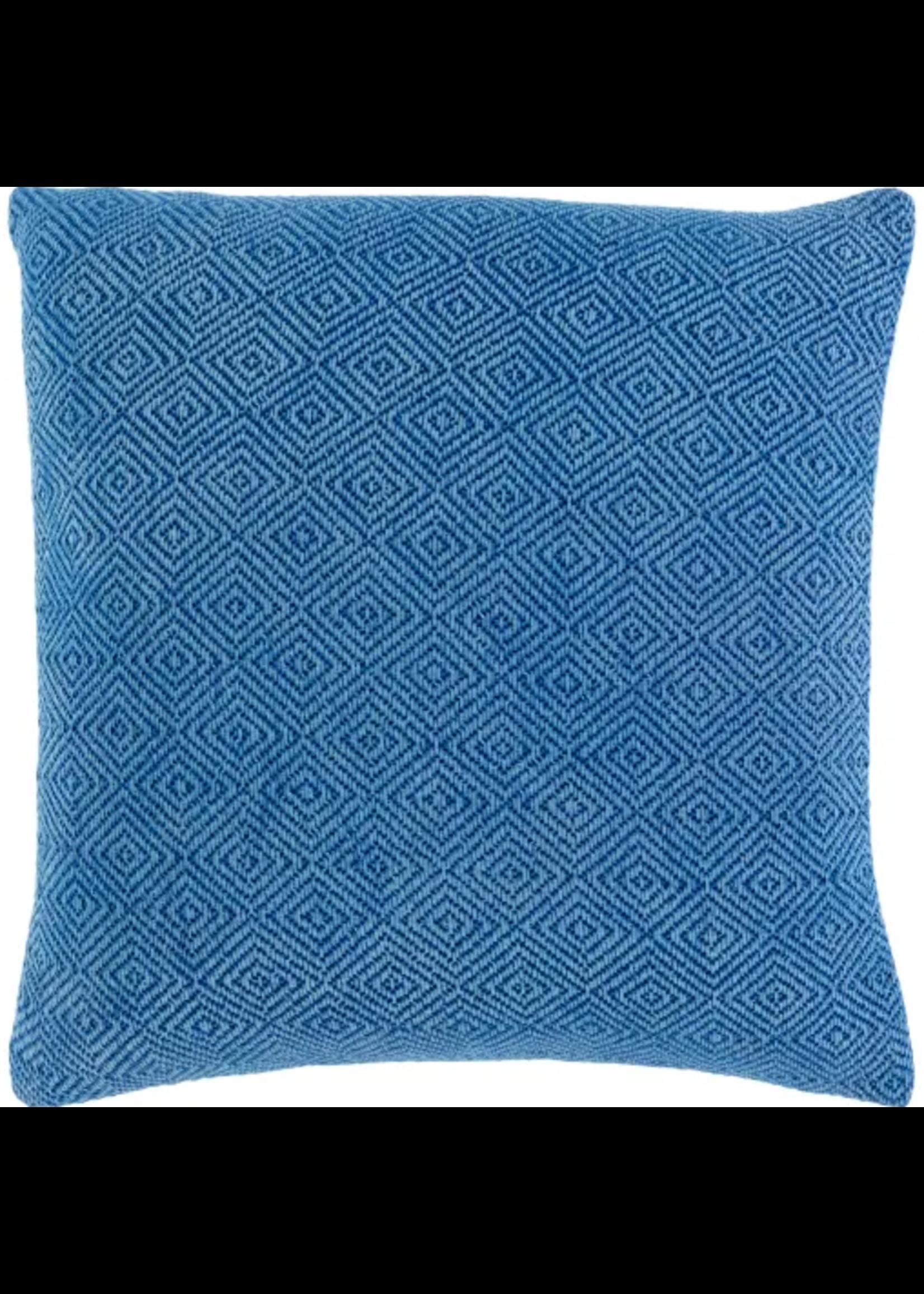 Surya Throw Pillow Blue