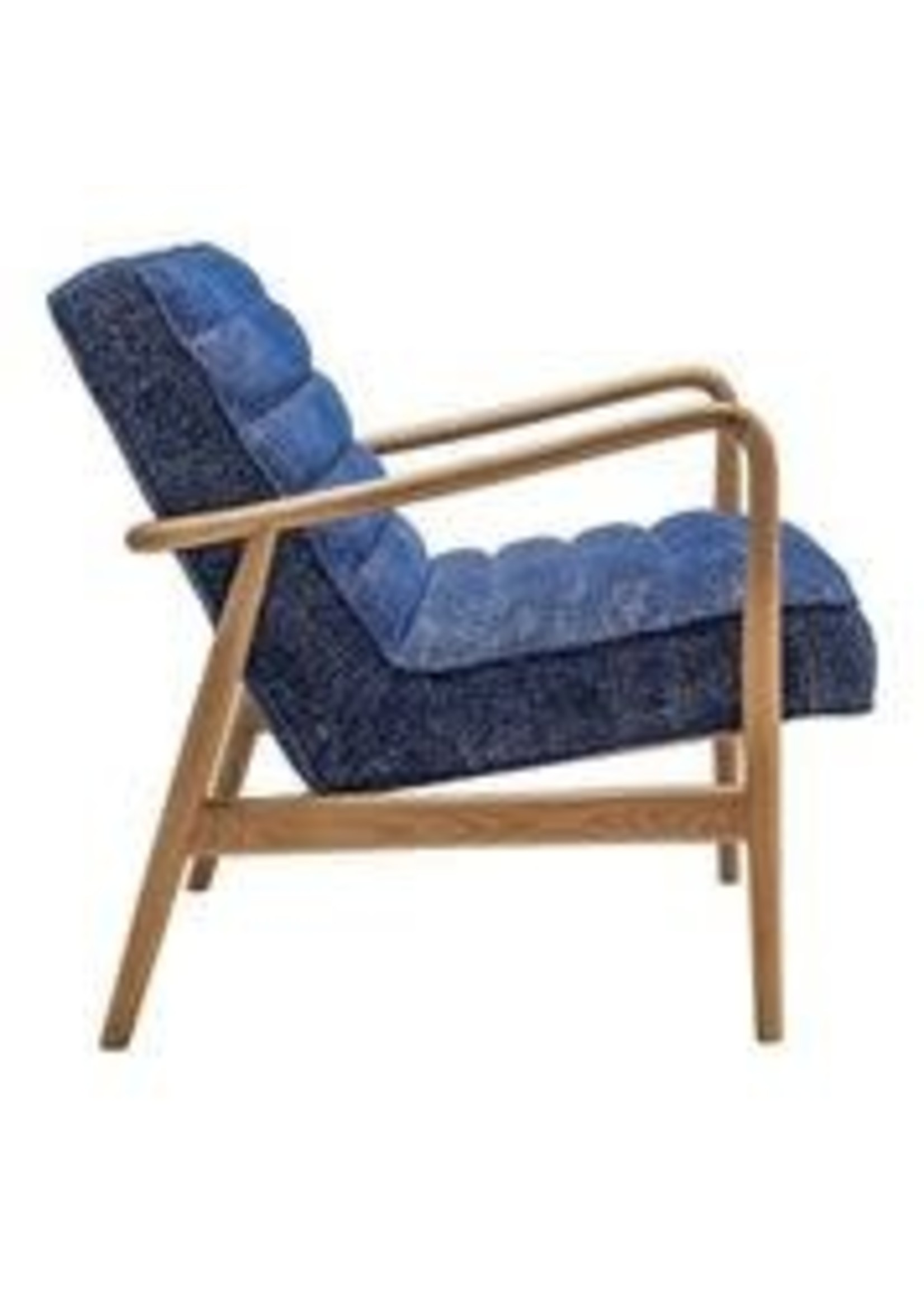 Moes Home Collection Moes Adeline Accent Chair Blue