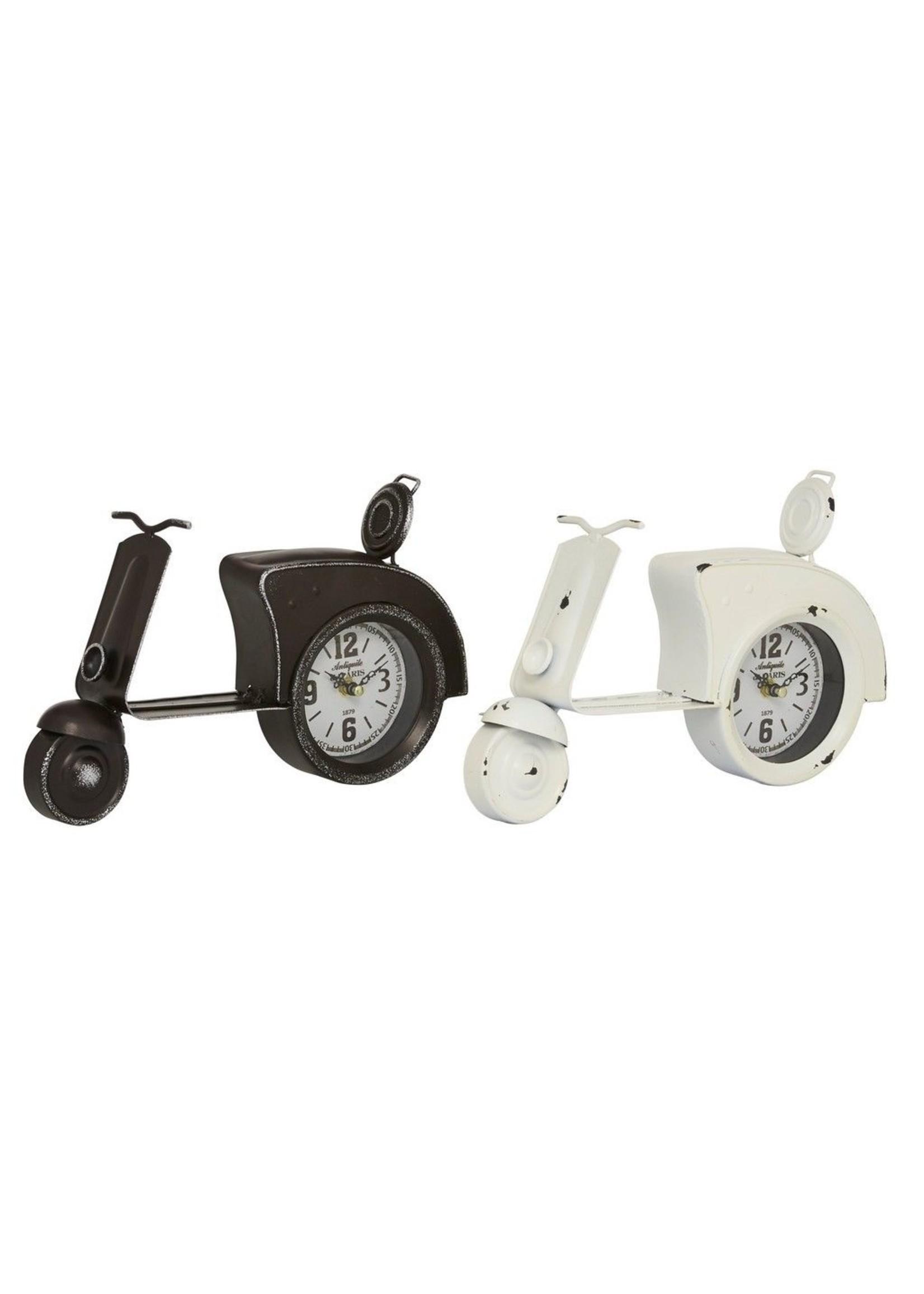 UMA Enterprises Metal Table Clock
