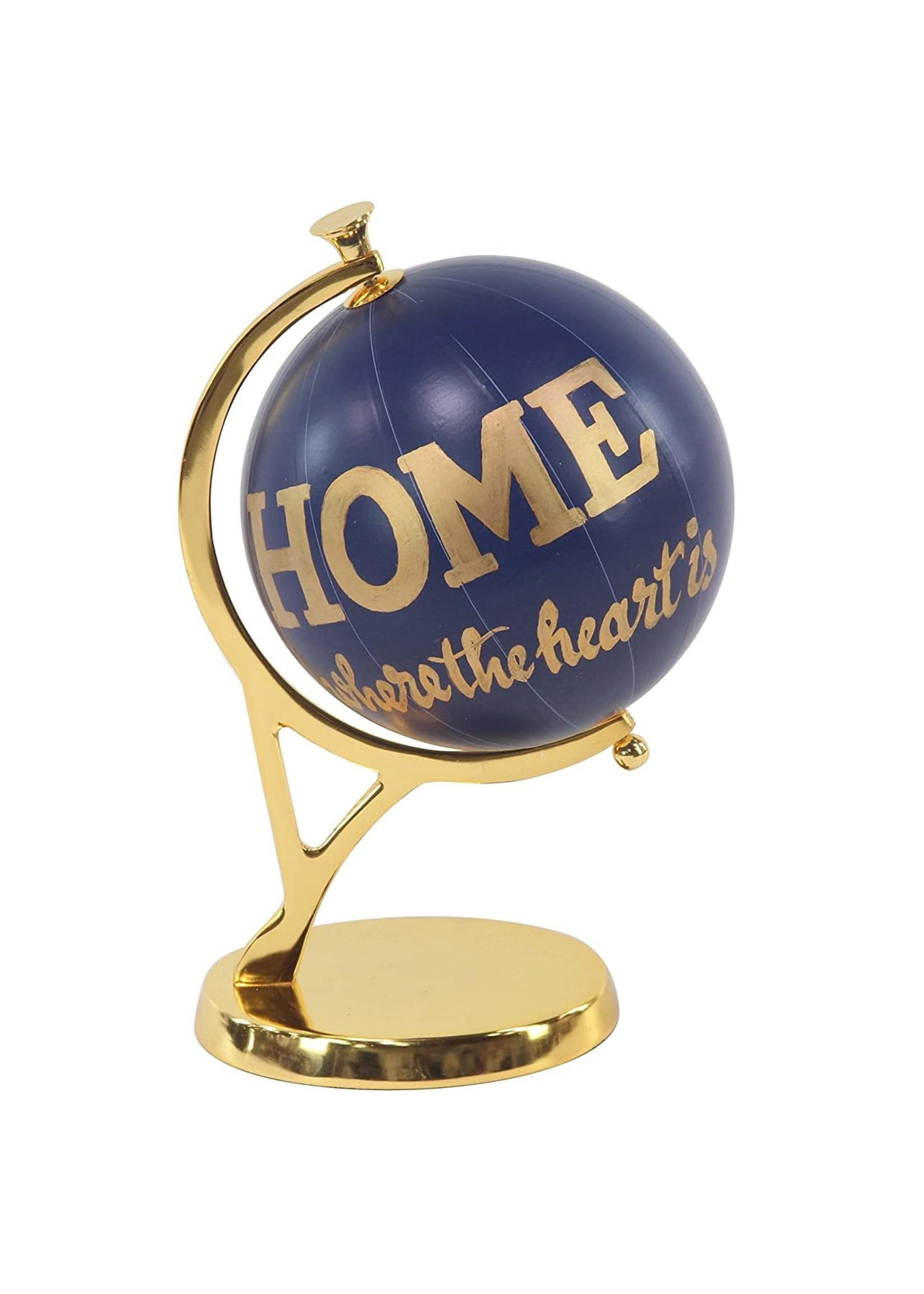 UMA Enterprises Gold & Purple Globe