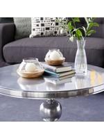 """UMA Enterprises Wood glass candle holder S/2 3.4"""", 4"""""""
