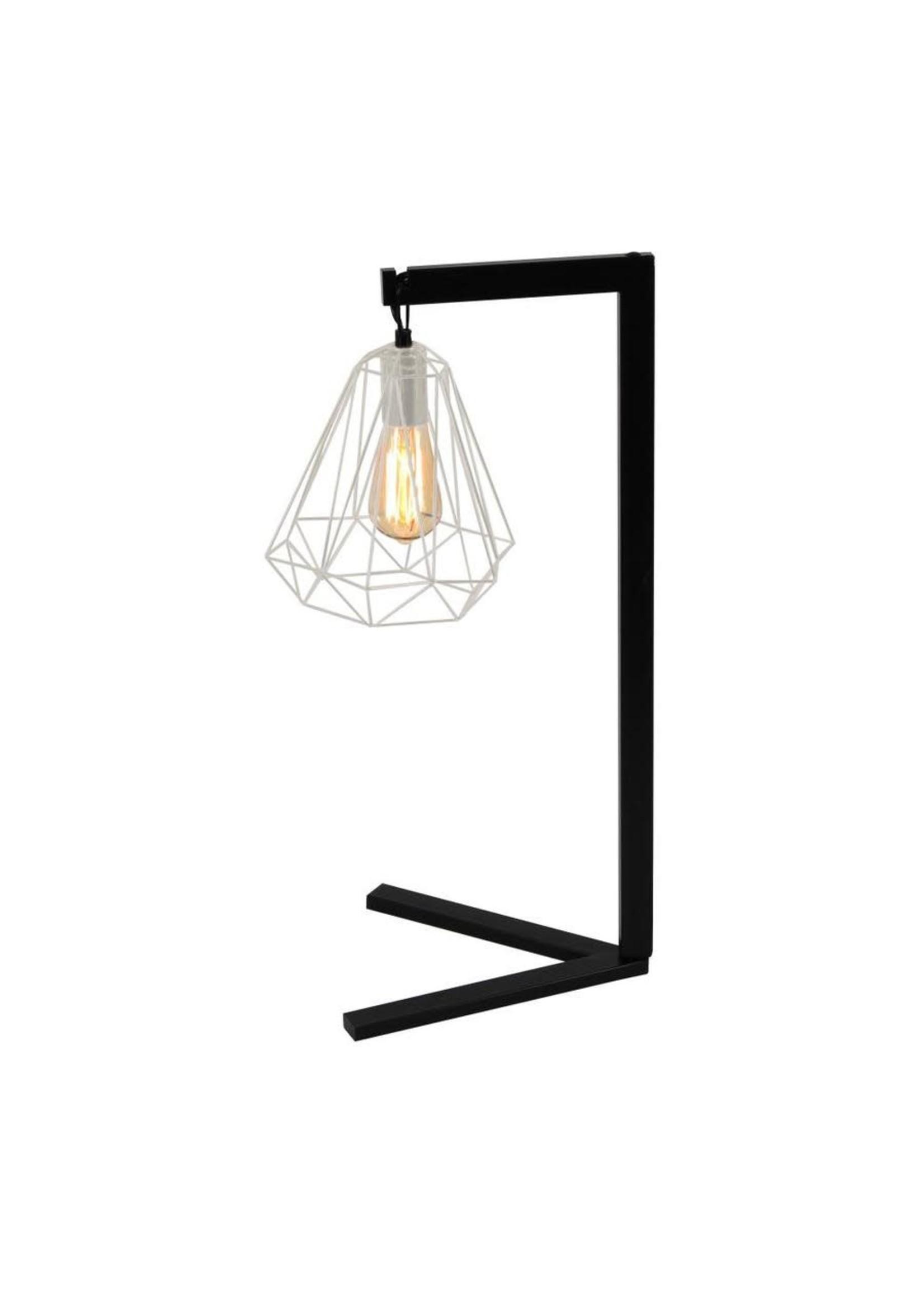 "UMA Enterprises Metal Wire Desk Lamp 26"""