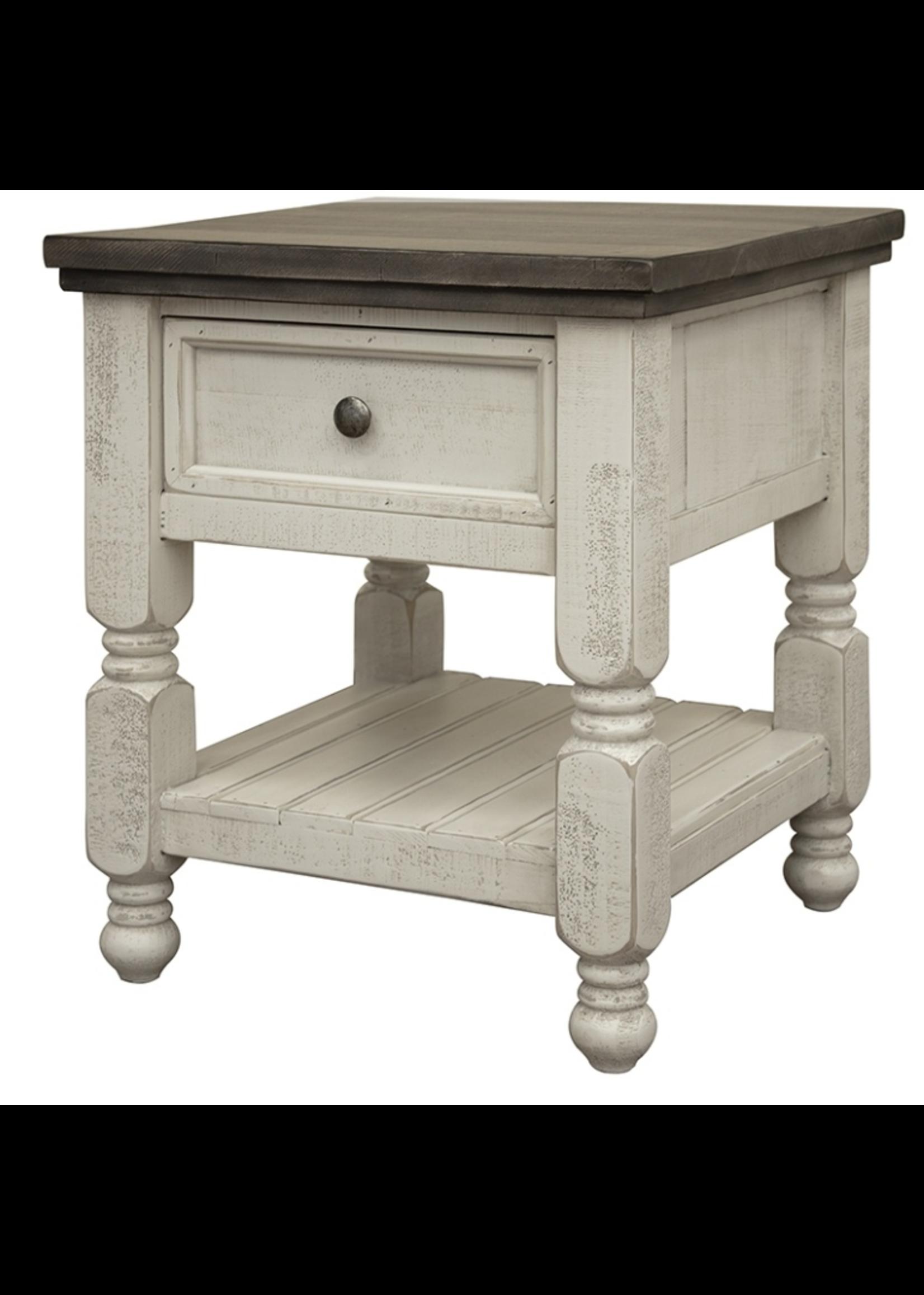 International Furniture Direct IFD End Table 1 Drawer