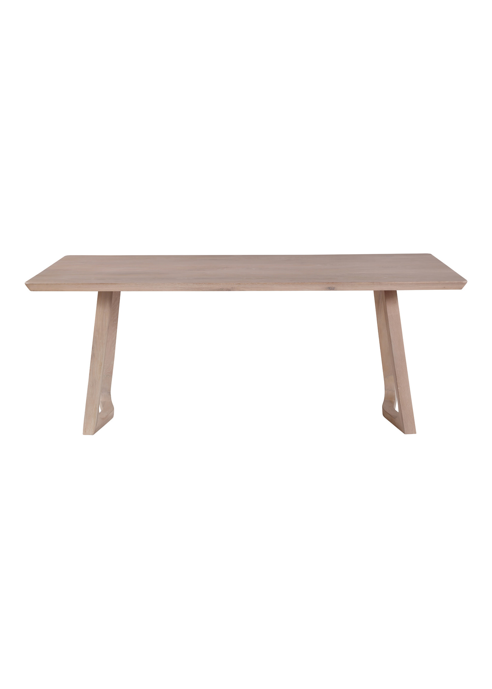 Moes Home Collection Silas Dining Table Oak by MOES