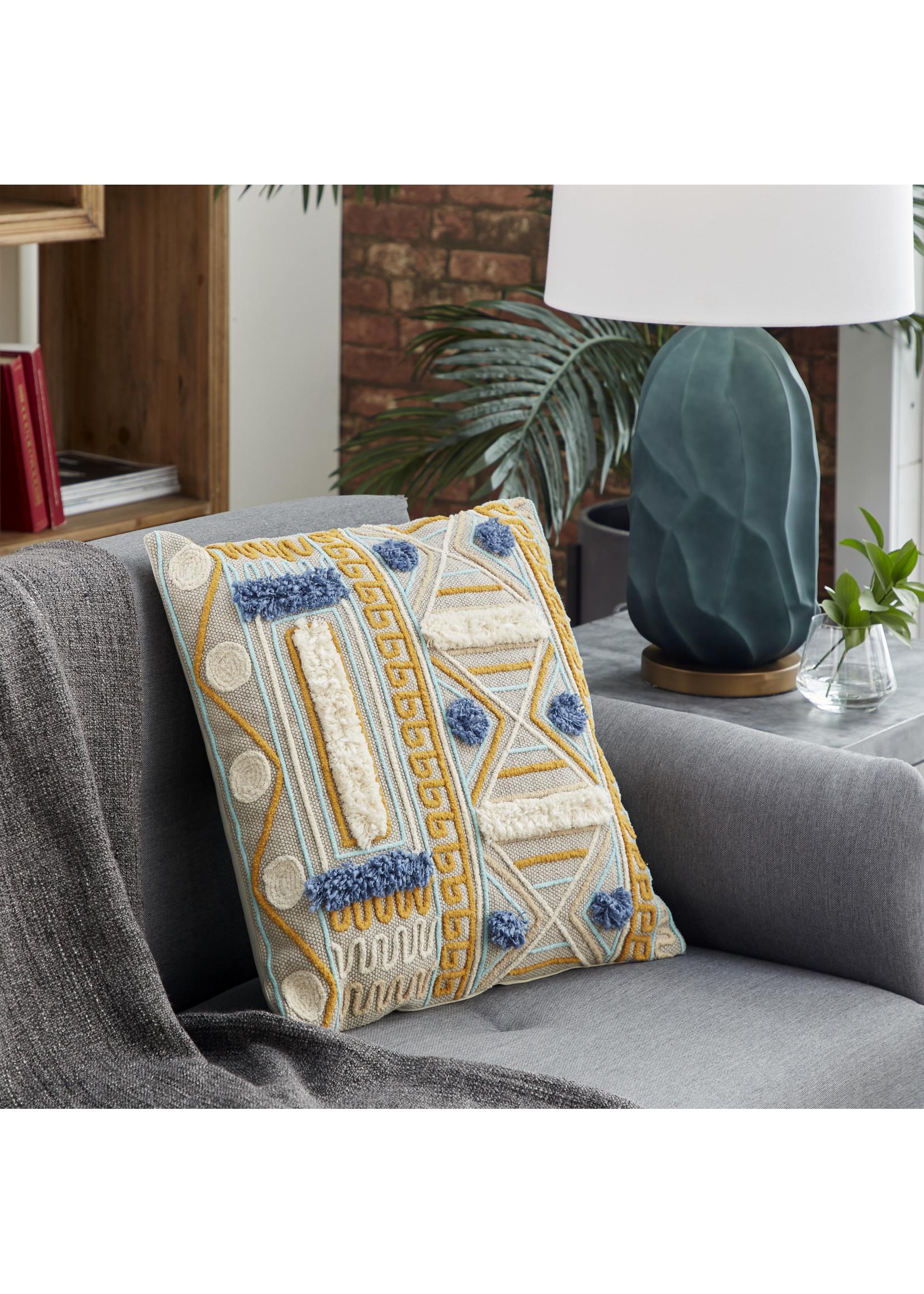 UMA Enterprises Textured Cotton Pillows Navaho Design
