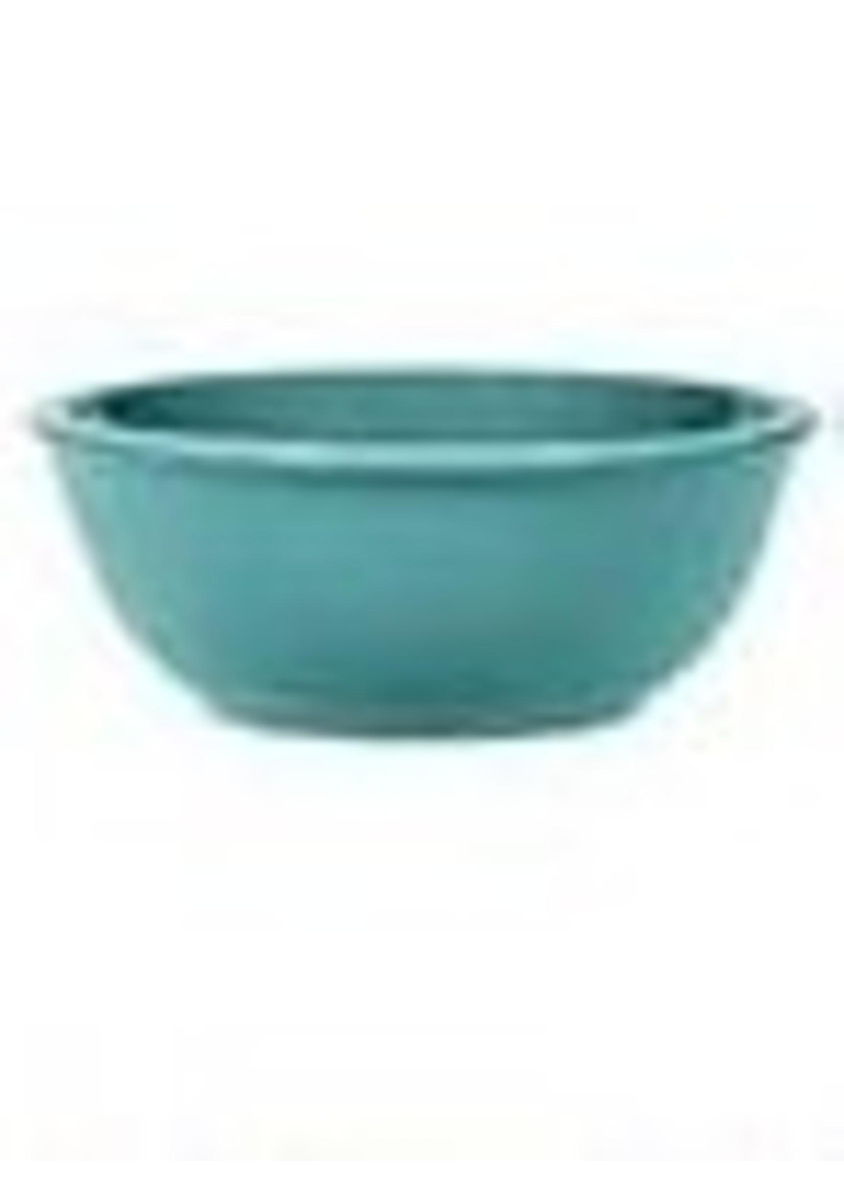 "Blue bowls  6.5"" diameter"