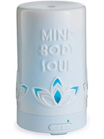 Candles Warmers Etc Mind Body Soul Oil Diffuser