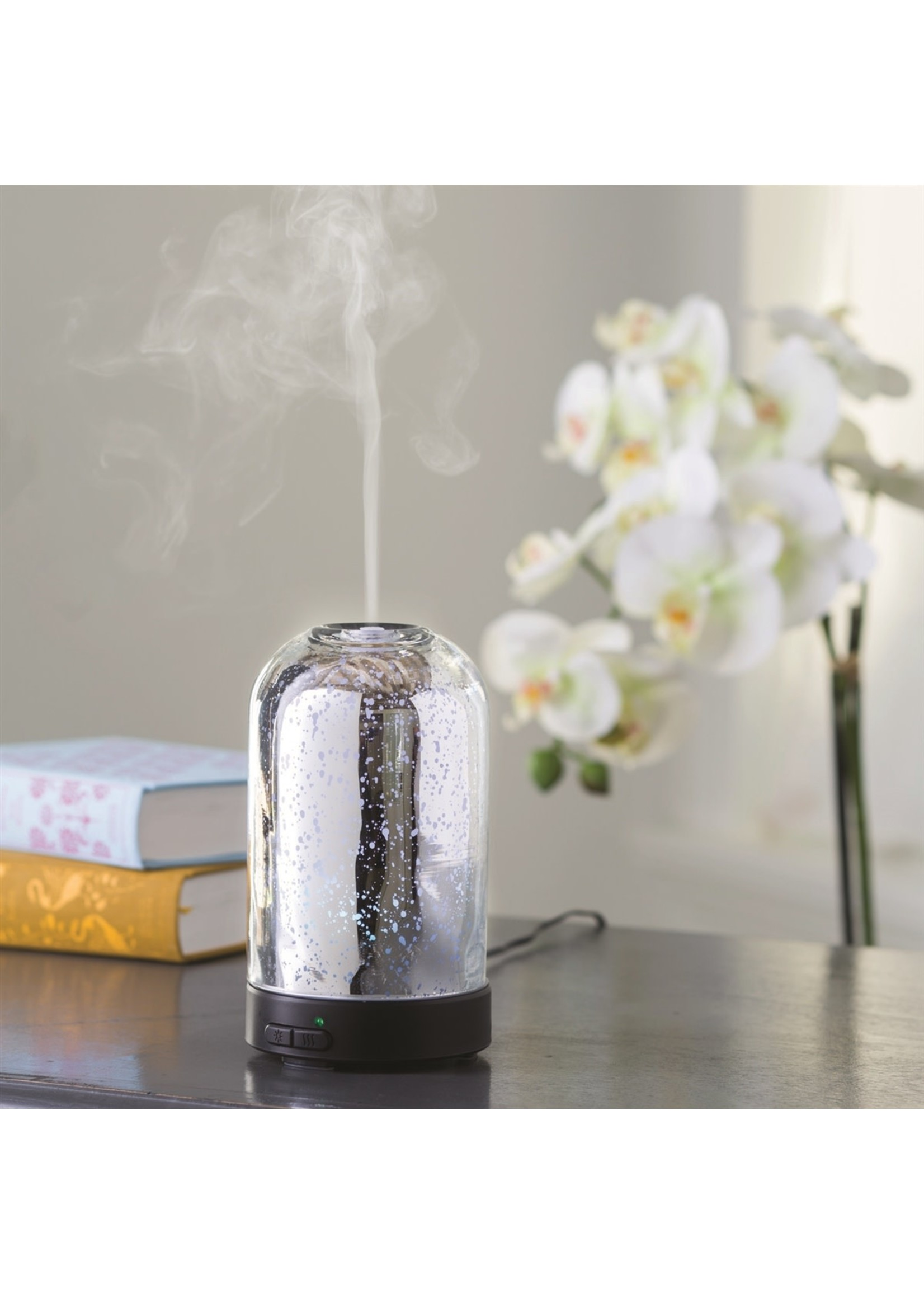 Candles Warmers Etc Mecury Glass Oil Diffuser