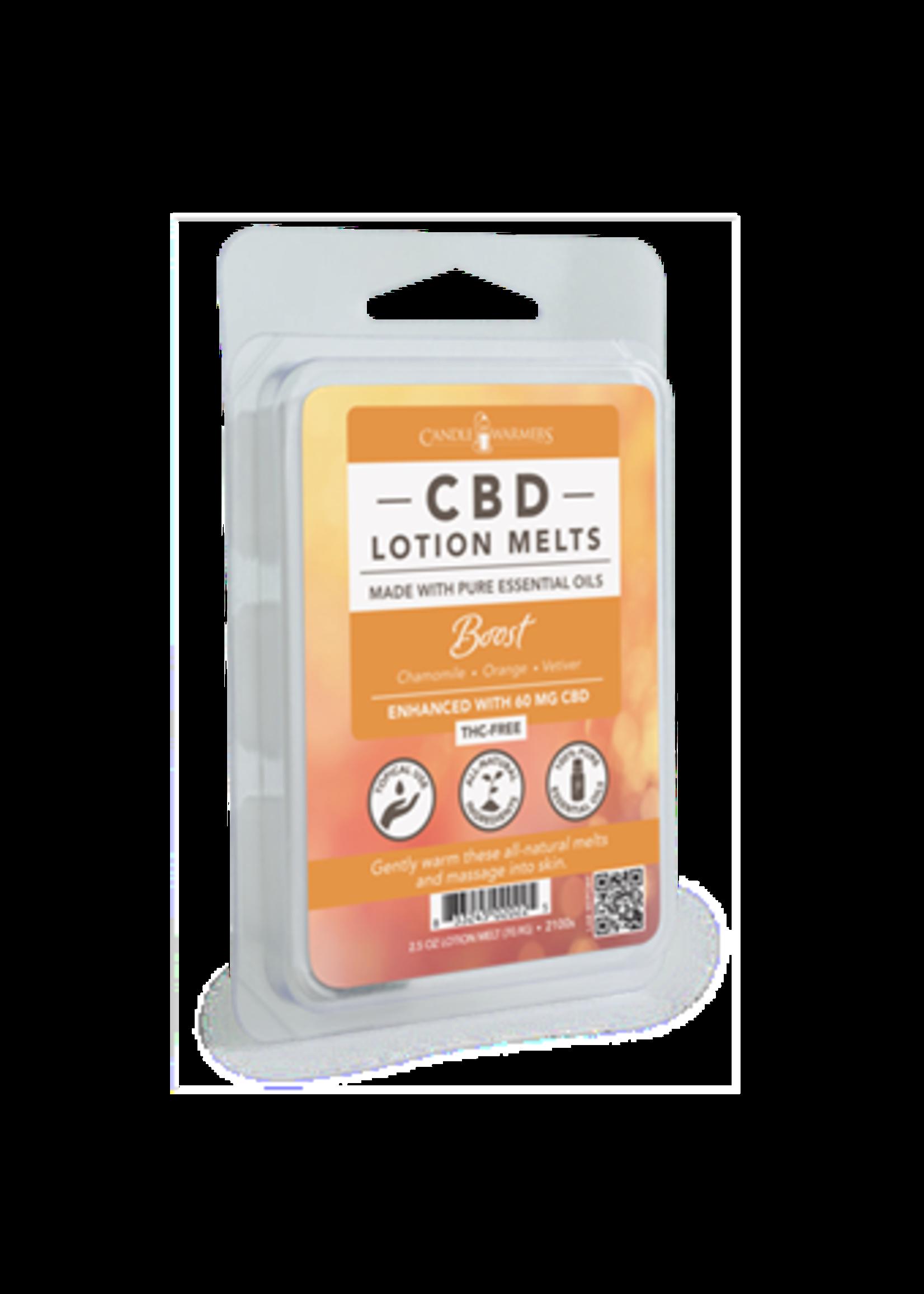 Candles Warmers Etc CBD Lotion Wax Melt Boost 2.5oz