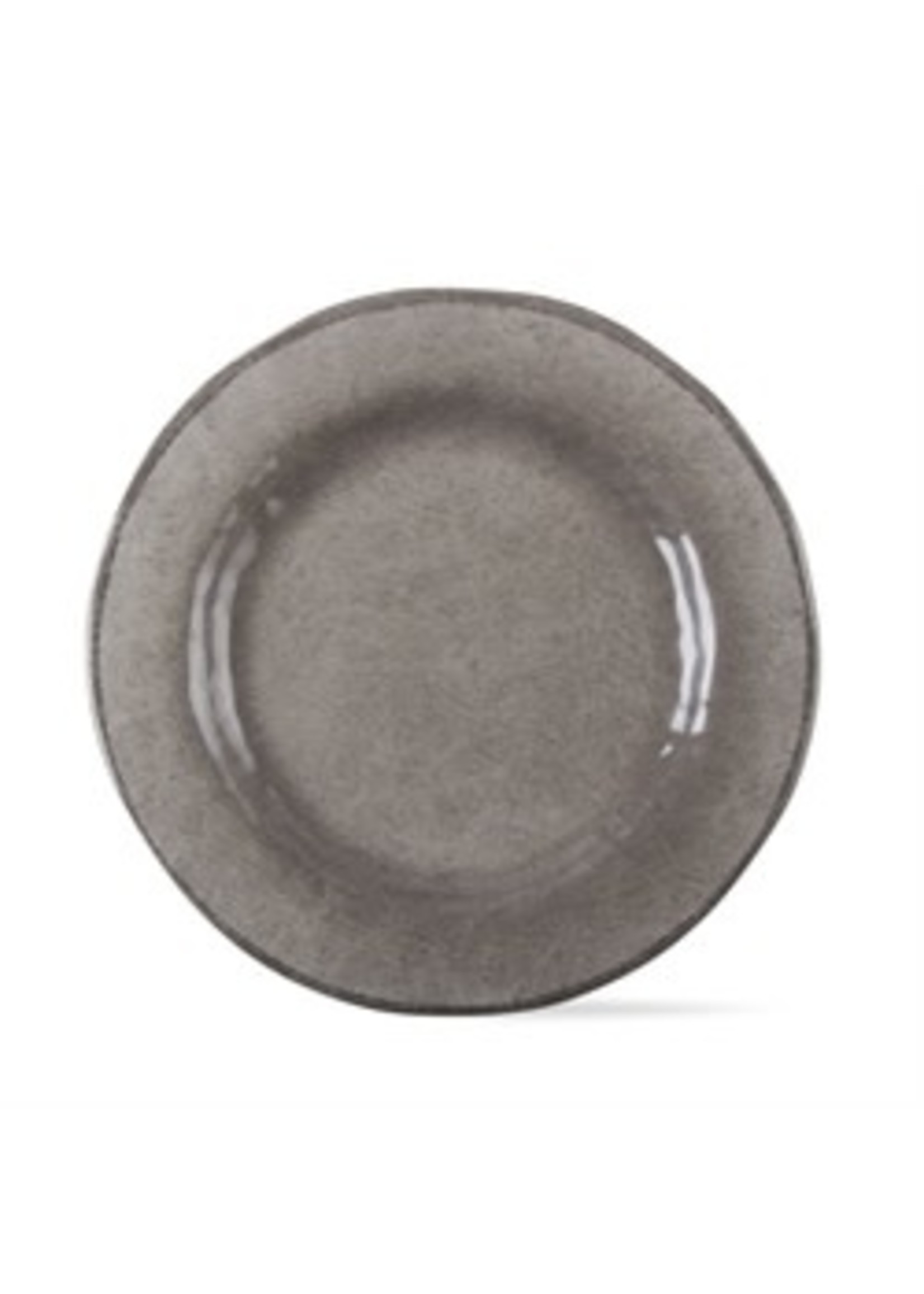 Tag Veranda Melamine Dinner Plate -Warm  Gray