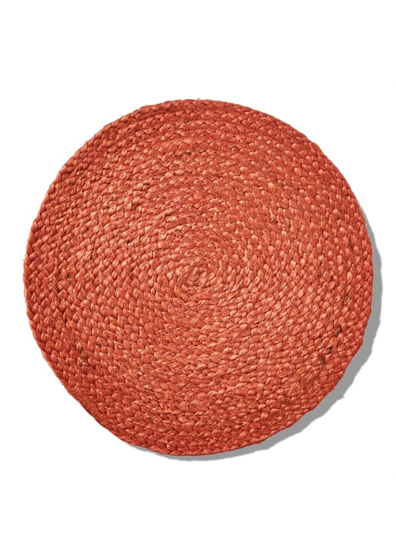 Tag Hemp Braided Platemat - Terracotta