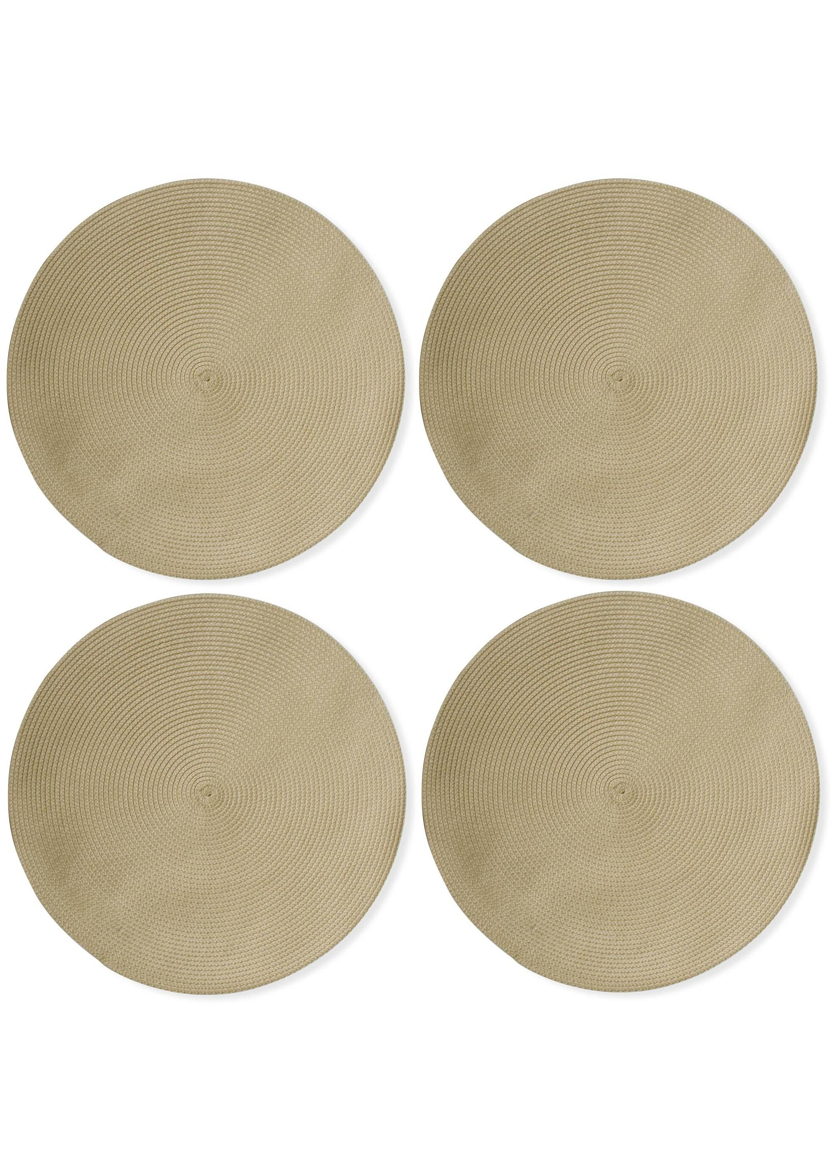 Tag Round Woven Placemats  - Natural