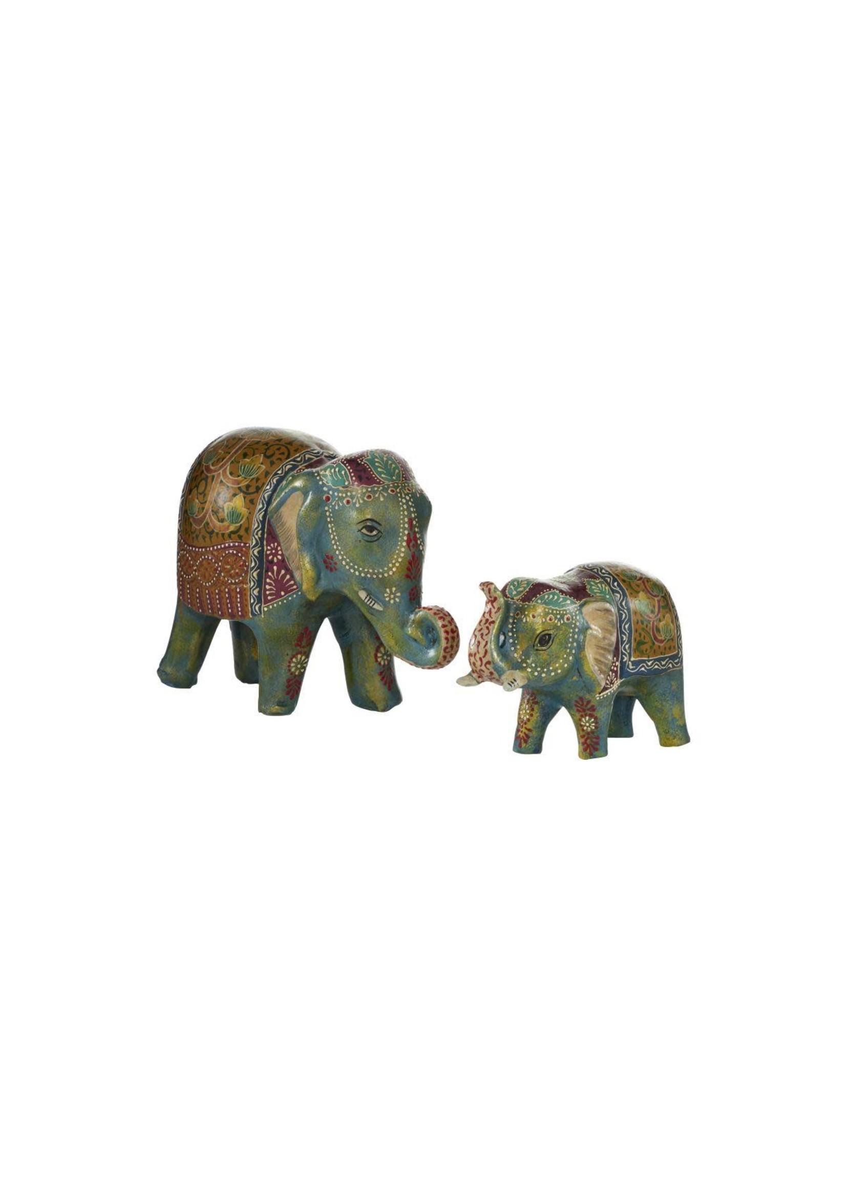 UMA Enterprises UMA PPR Elephant Blue Set/2