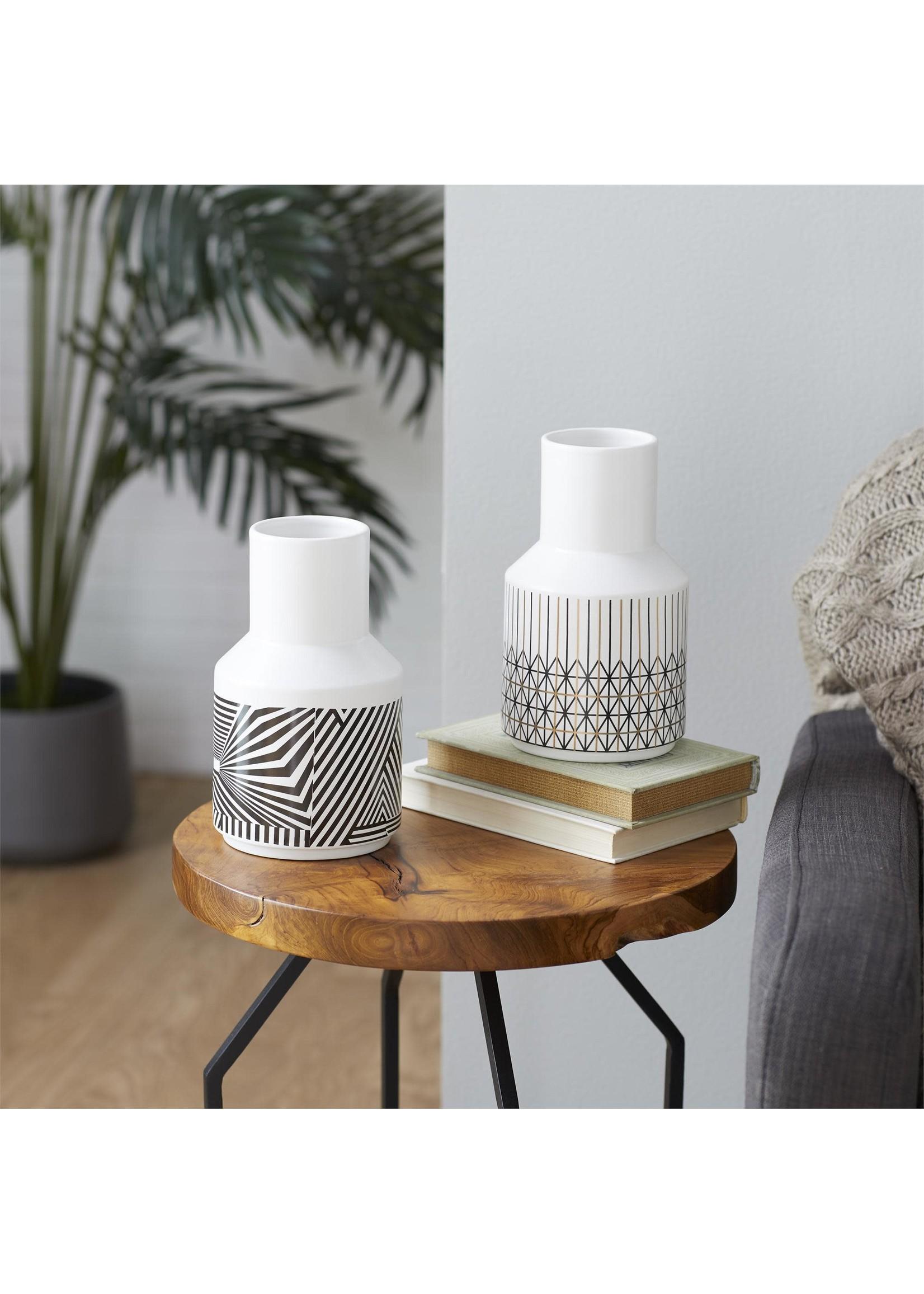 """UMA Enterprises UMA Ceramic Vase 5""""W 9""""H"""