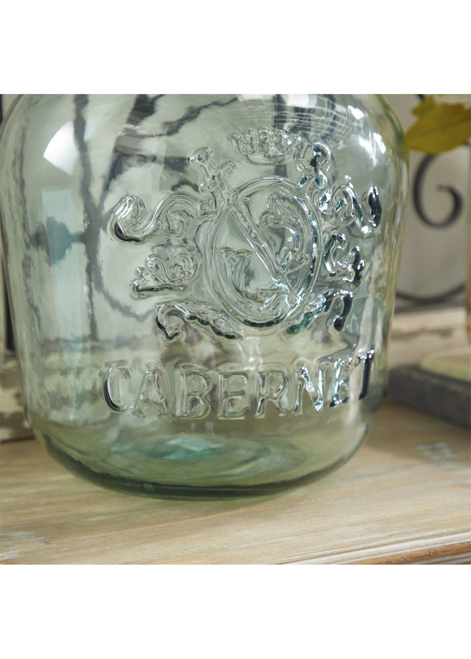 """UMA Enterprises UMA Glass Bottle 12""""W17""""H"""