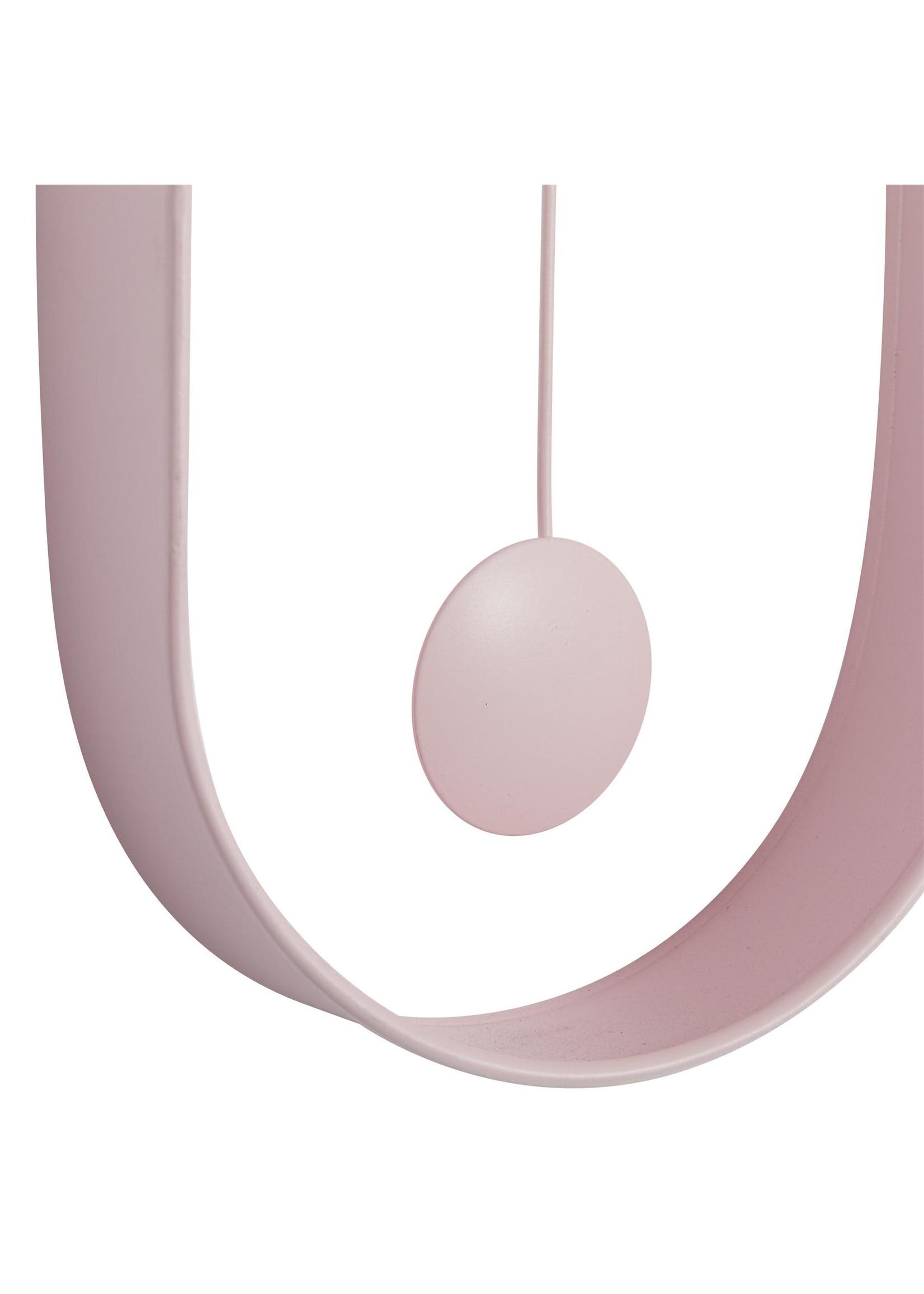 UMA Enterprises UMA Mtl Wall Clock Pink