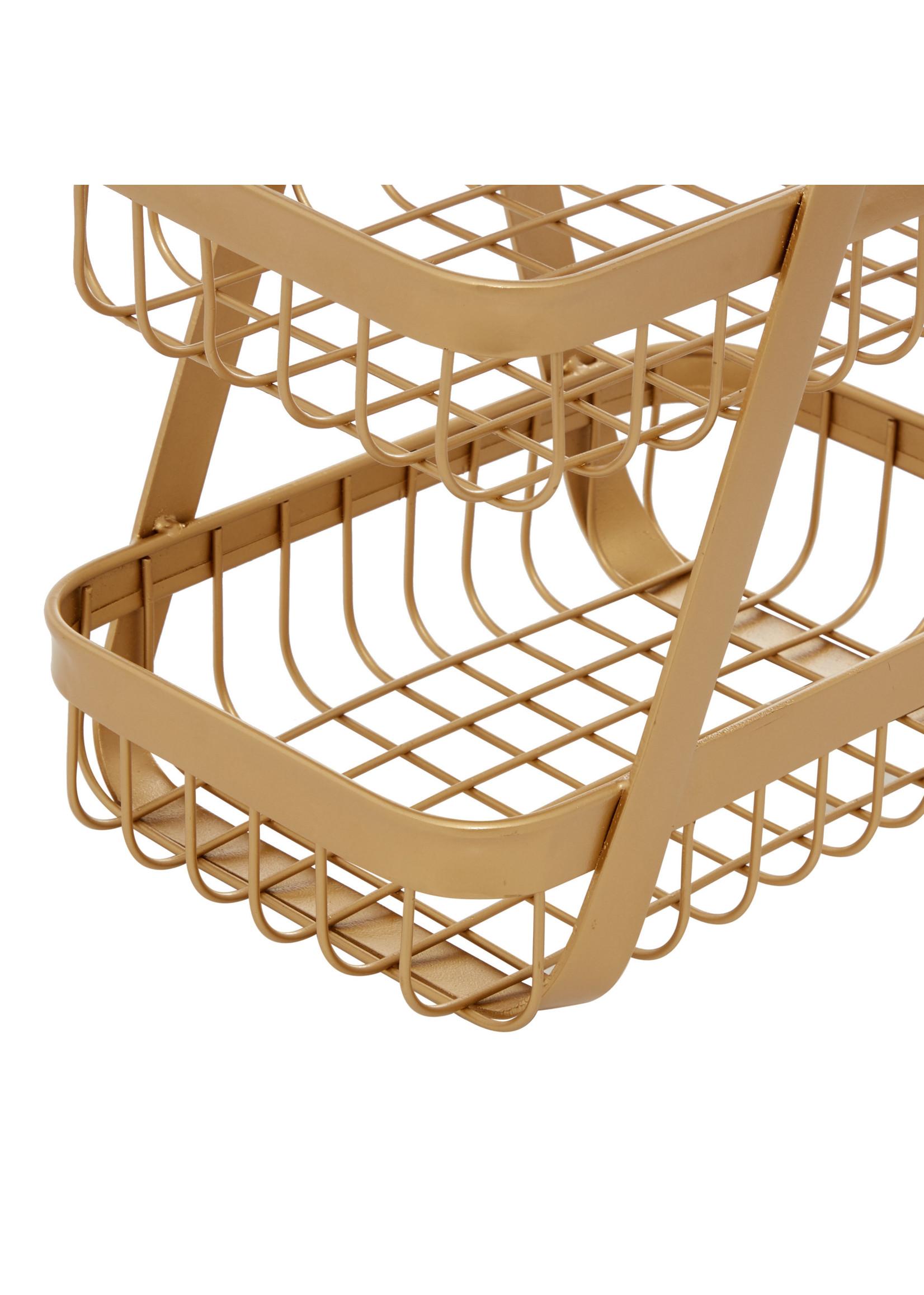 UMA Enterprises UMA Metal Wood Basket