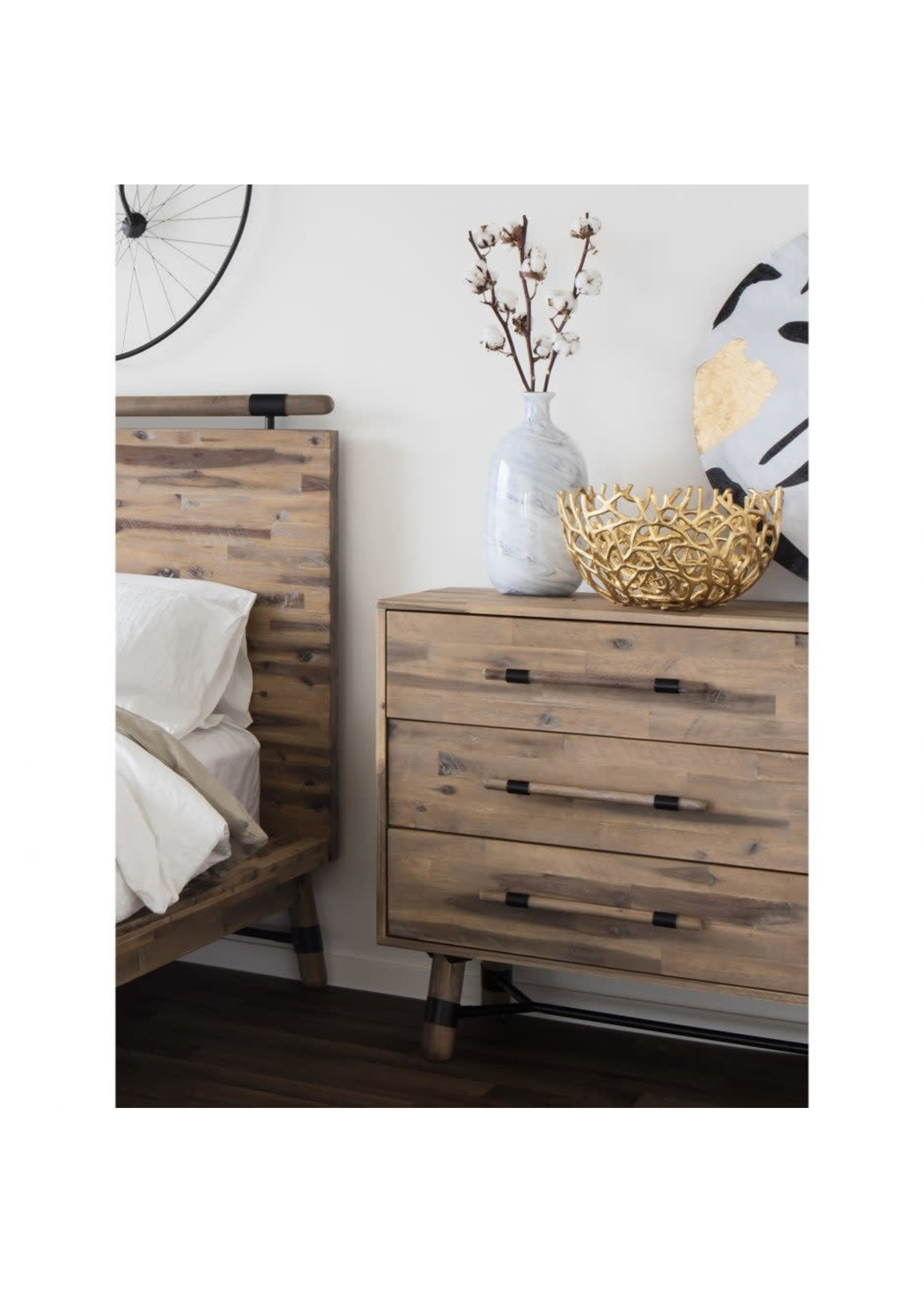Moes Home Collection MOES Hudson 6 Drawer Low Dresser