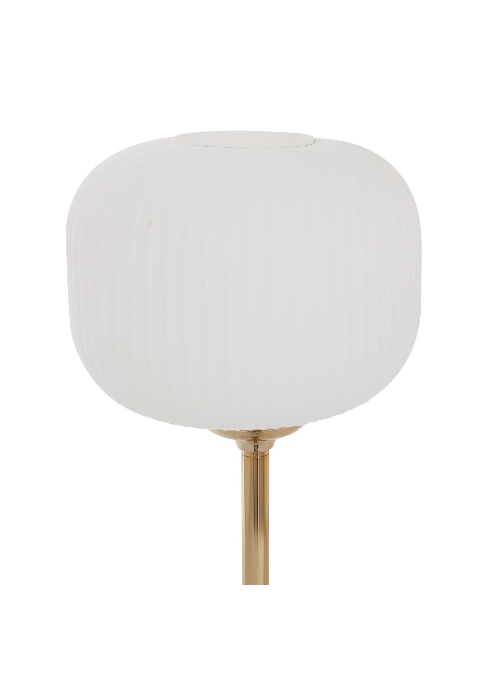 UMA Enterprises UMA Marble Metal Table Lamp 10x23