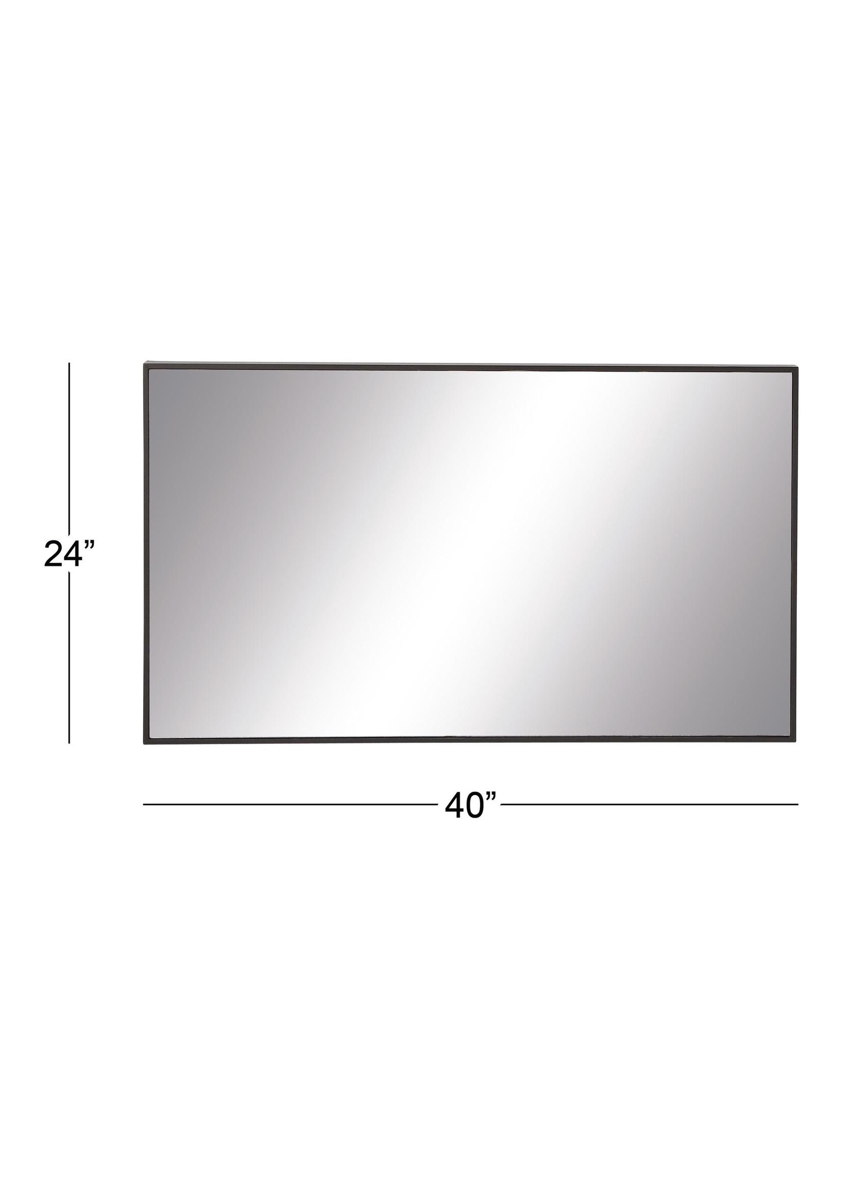 UMA Enterprises UMA Wood Rectangular Wall Mirror 24x40