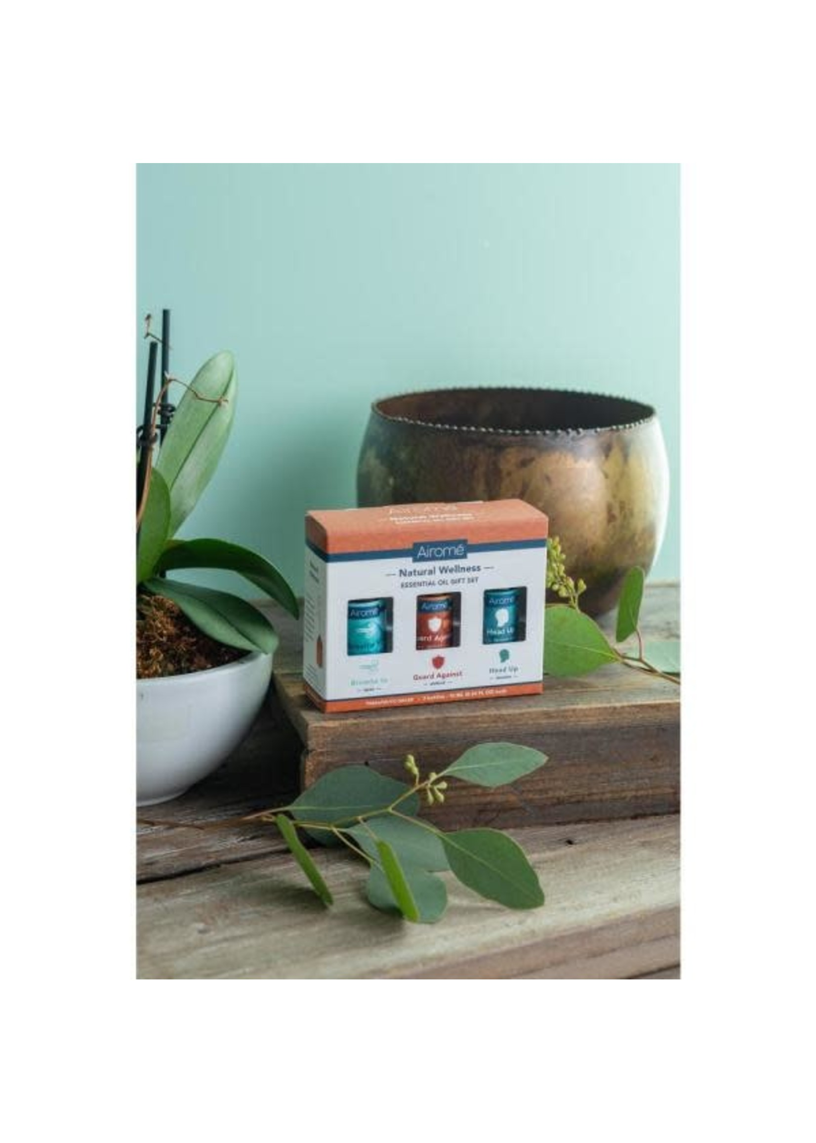 Airome Natural Wellness pack of 3 Essentials Oils 10ml each