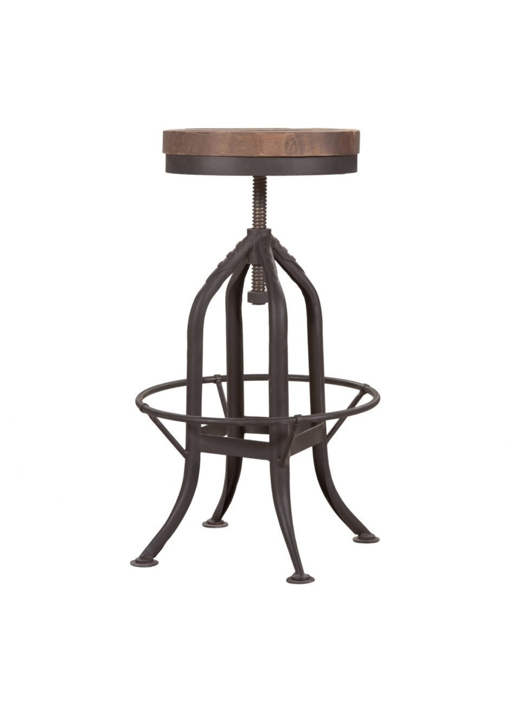 Moes Home Collection Brut Barstool By MOES