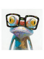 Moes Home Collection RE-1060-37  Moe's Smart Frog Wall Decor