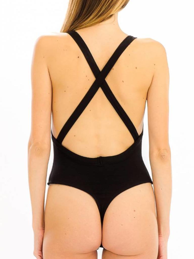 Trenton Ribbed Bodysuit - Verbena 7899c8900