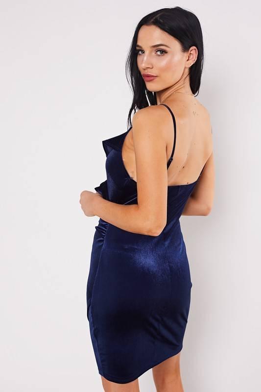 Annike Velvet Dress