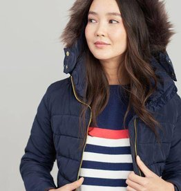 Joules Joules Warrington Contrast Hem Padded Jacket