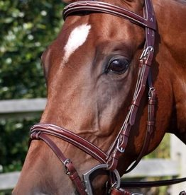Nunn Finer Nunn Finer Modena Bridle with Flash & Matching Reins
