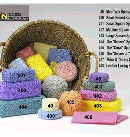 Equest Sponges Mini Tack Sponge - Round