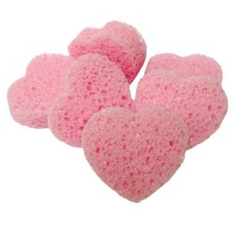 Jack's Manufacturing Heart Shaped Sponges - 6 pack