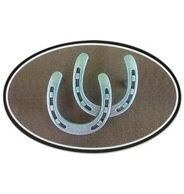 G.T. Reid Euro Double Horseshoe Decal
