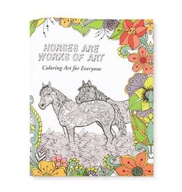 G.T. Reid Coloring Art for Everyone - Horses Are Works of Art