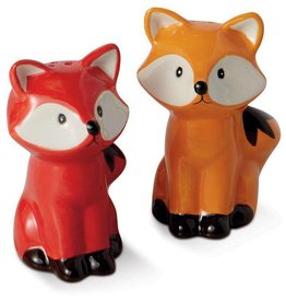 G.T. Reid Fox Salt & Pepper Set